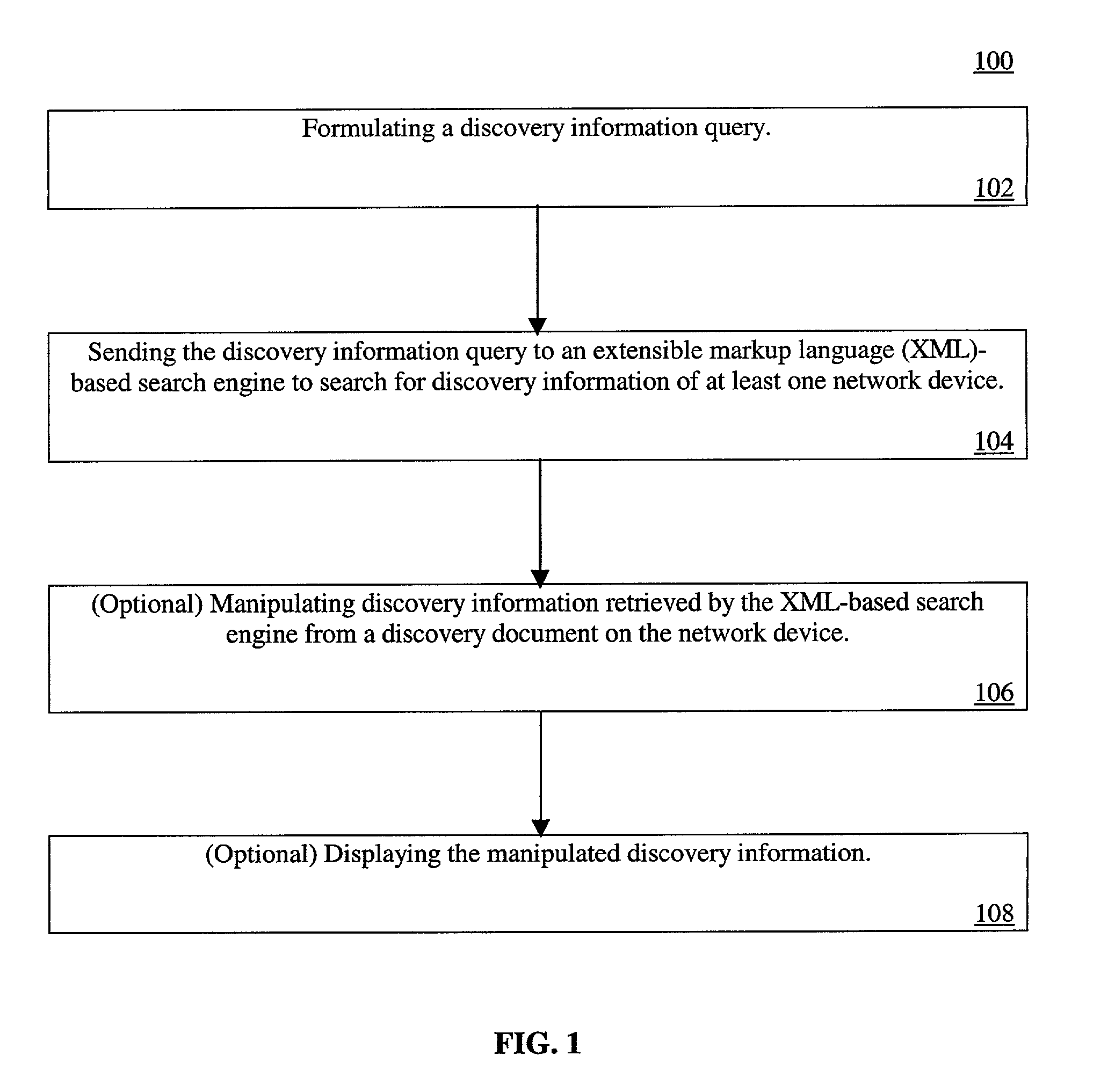 patent us7272644 internet based network topology discovery