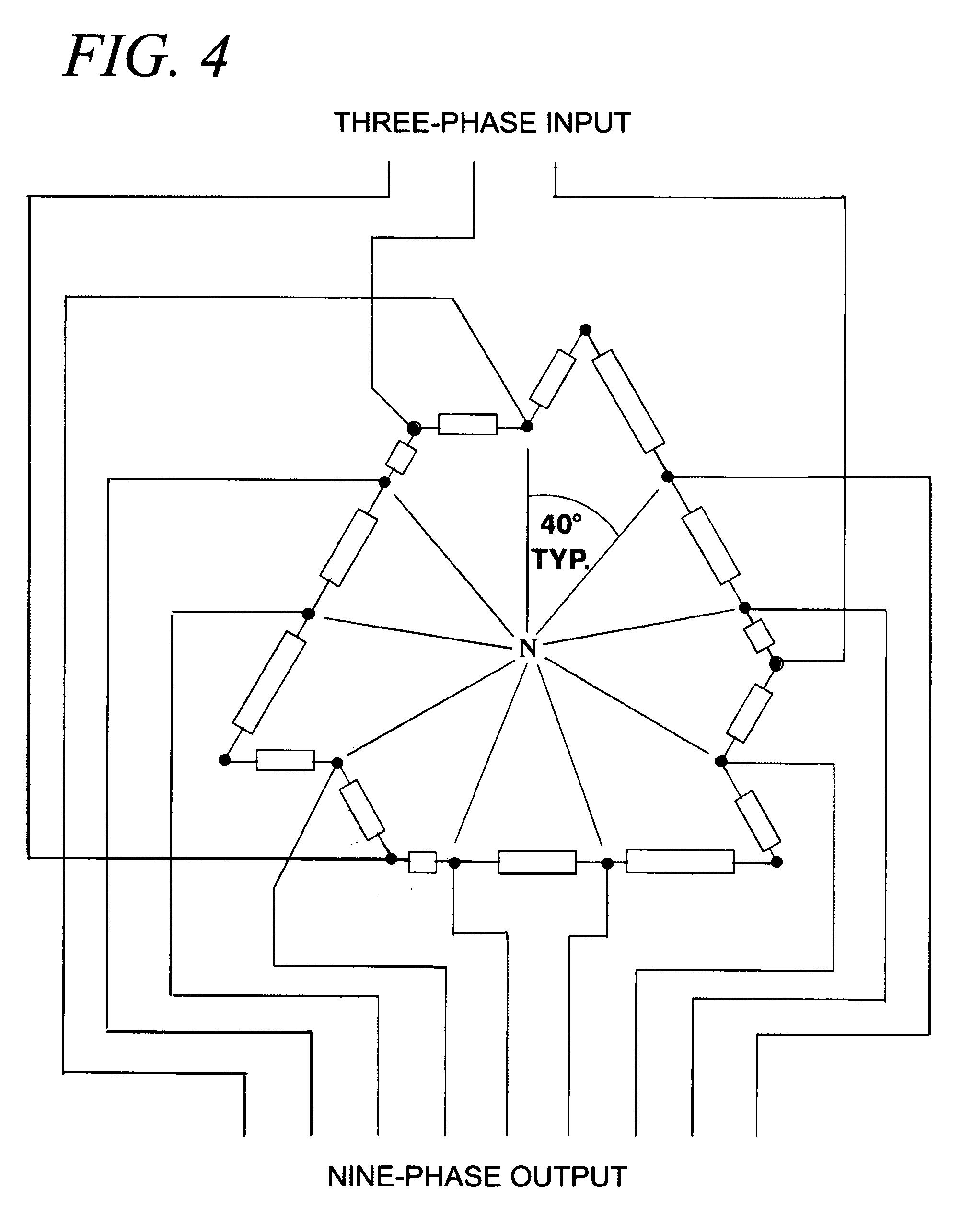 Patent US7274280 Ninephase stepupstepdown autotransformer – Autotransformer Wiring Diagram