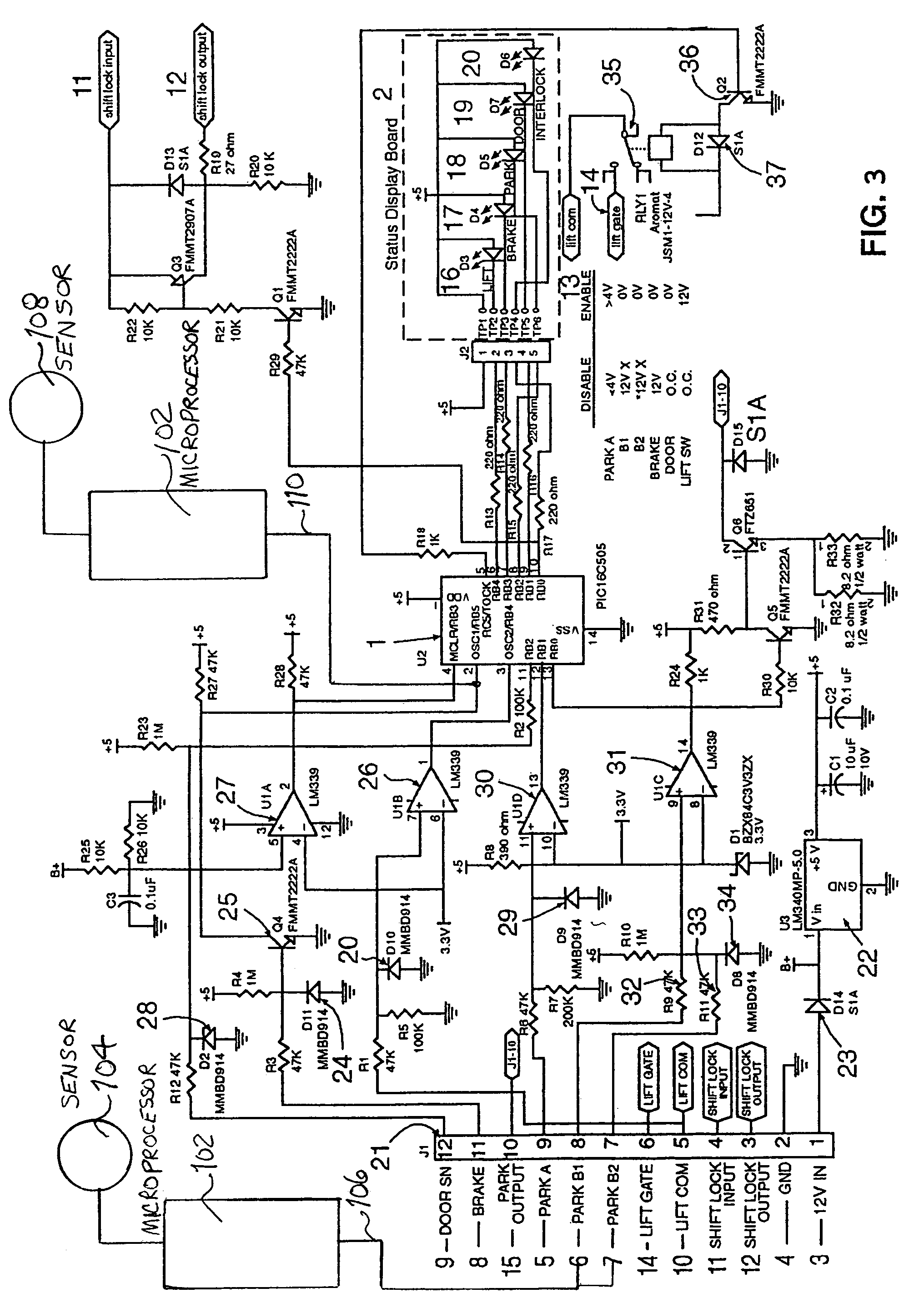 US07274980 20070925 D00003 ricon lift wiring diagram ricon van lift wiring diagram \u2022 free wiring harness for wheelchair lift at edmiracle.co