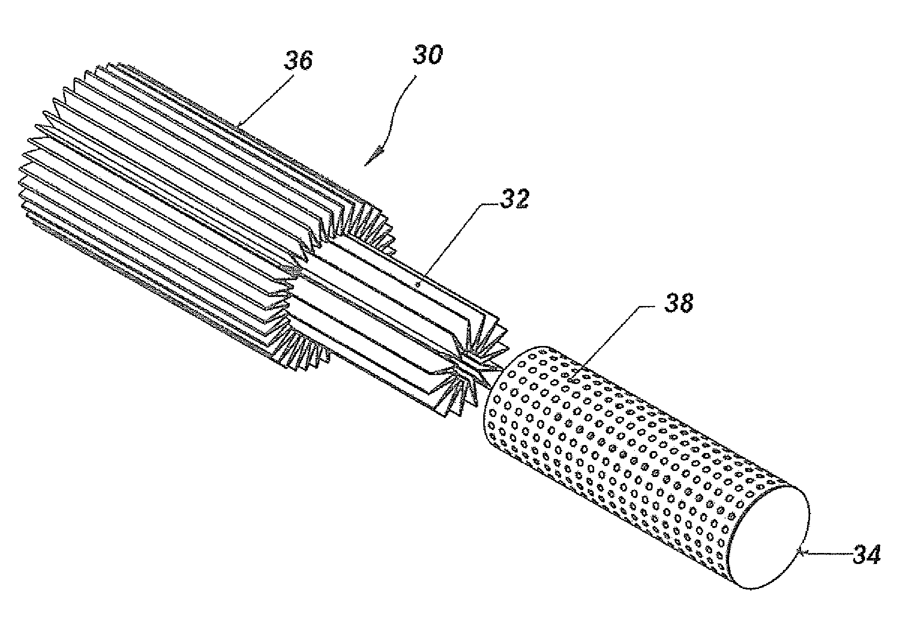 patent us7276098 - tangential in-line air filter