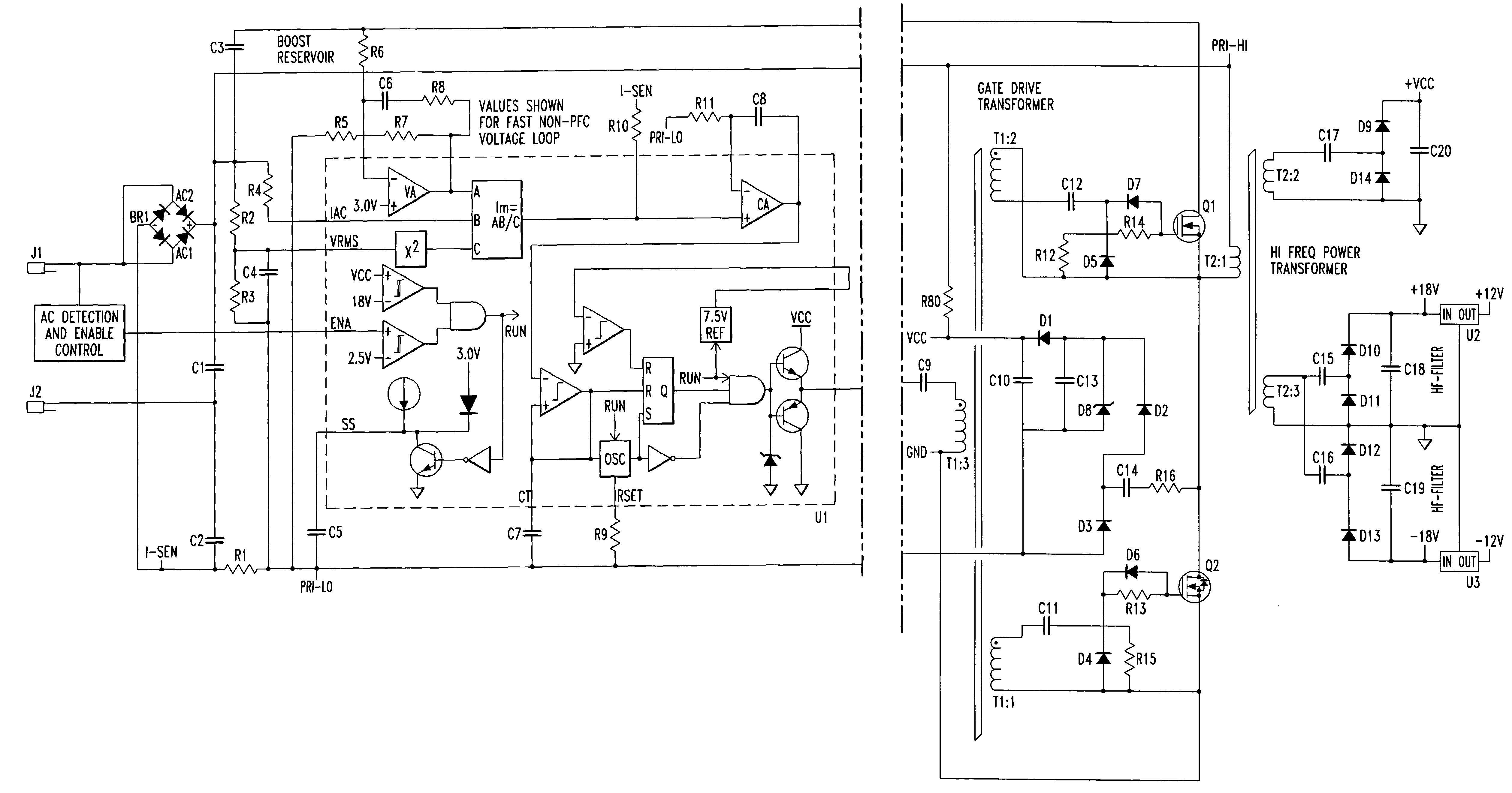 Qsc Power Amplifier Schematic Diagram Power Amplifier Schematic