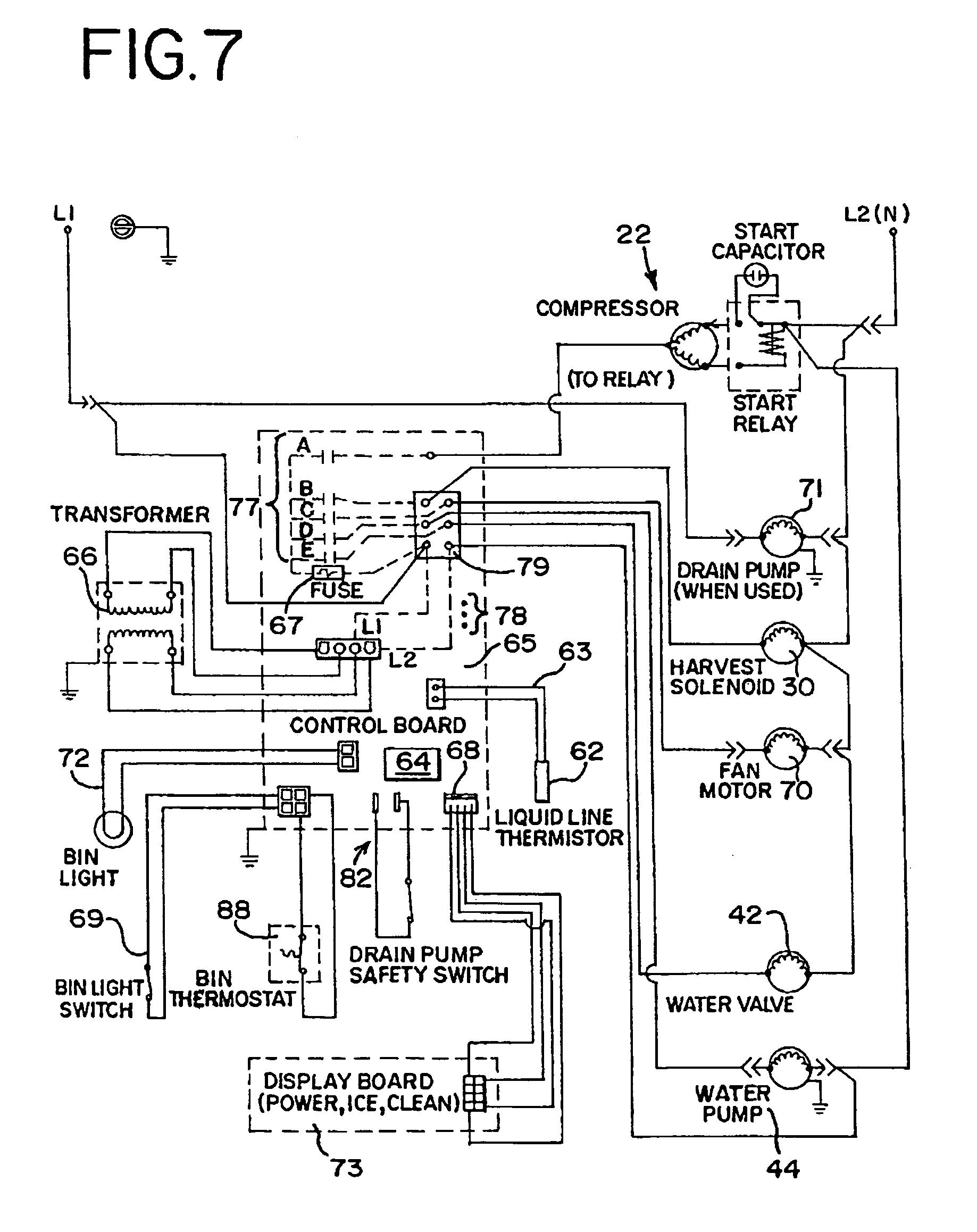 patent us7281386 - residential ice machine