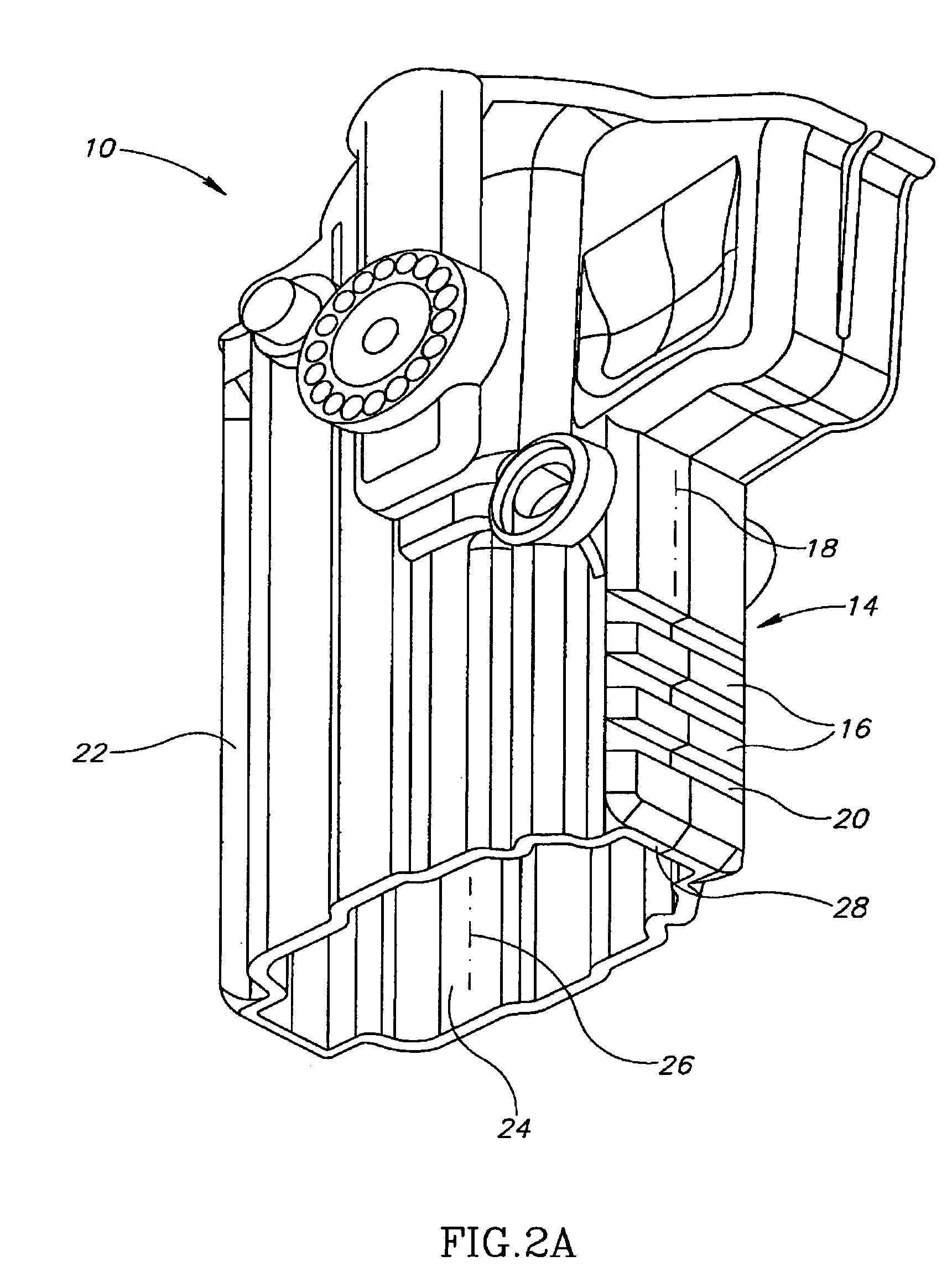 patent us7290688 tactical gear receptacle with accessories