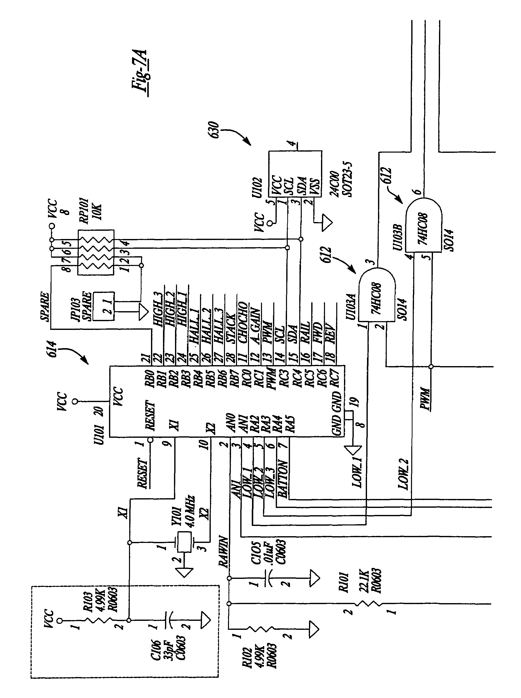 US07298103 20071120 D00006 patent us7298103 control and motor arrangement for use in model Simple Electrical Wiring Diagrams at soozxer.org