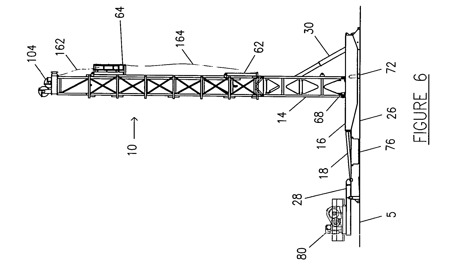 Rig Floor Elevation : Patent us automatic method for installing mobile