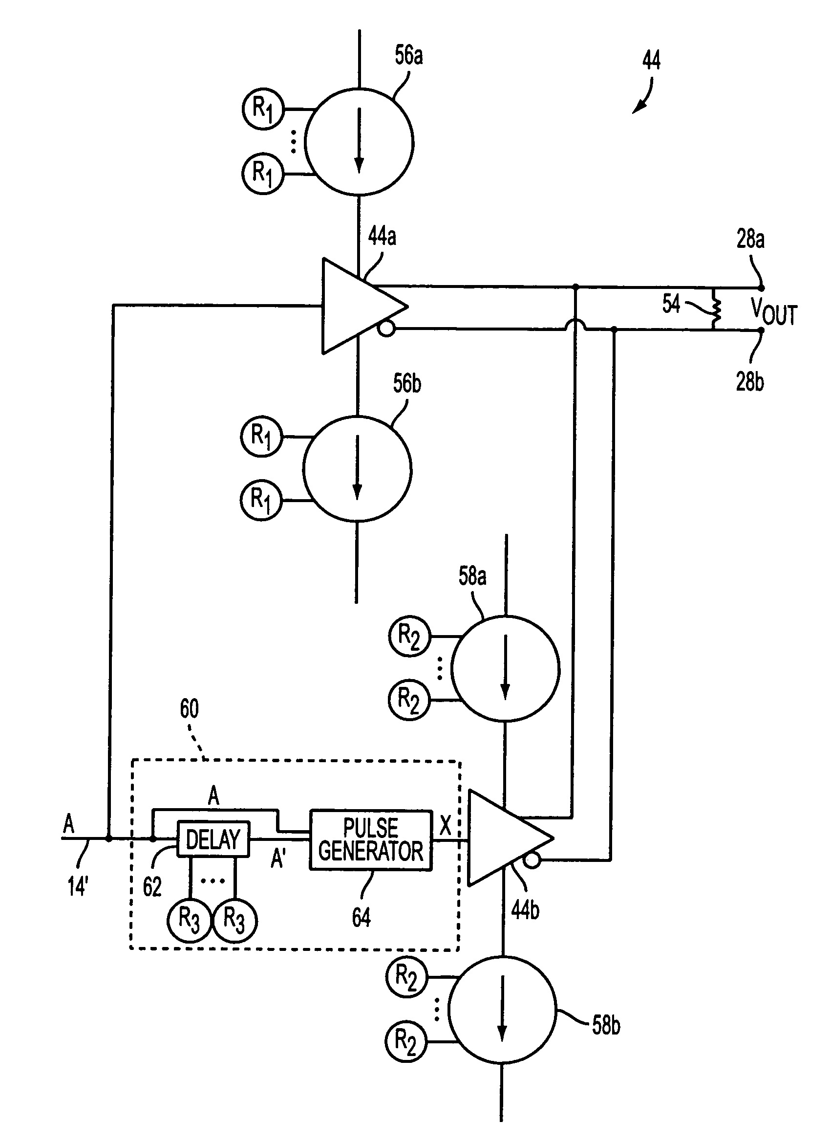 Patent Us7307446 Integrated Circuit Output Driver Circuitry With And Testing Of Highspeed Optical Circuits At Fujitsu Drawing