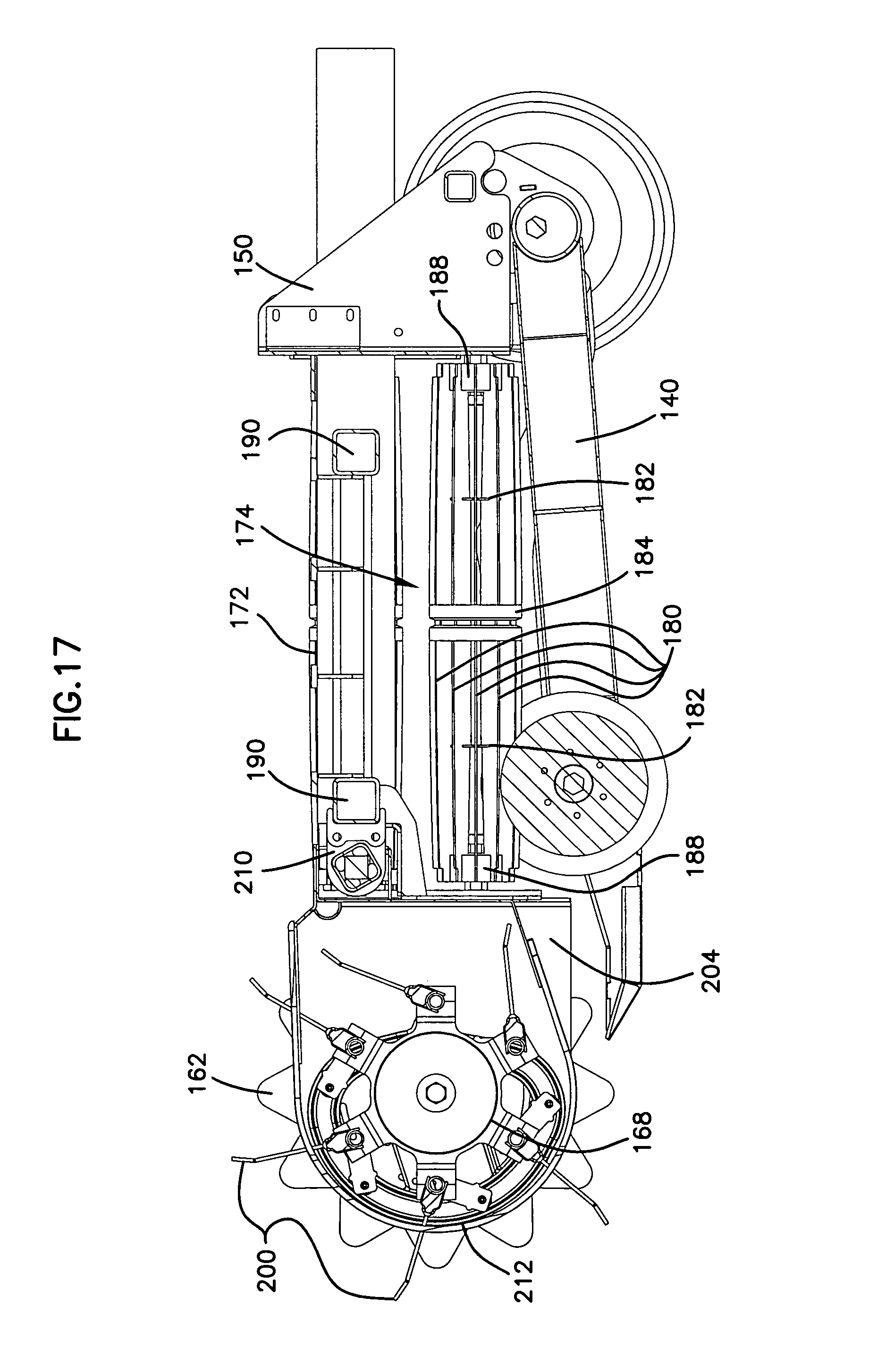 patent us7310929 windrow merging apparatus google patents