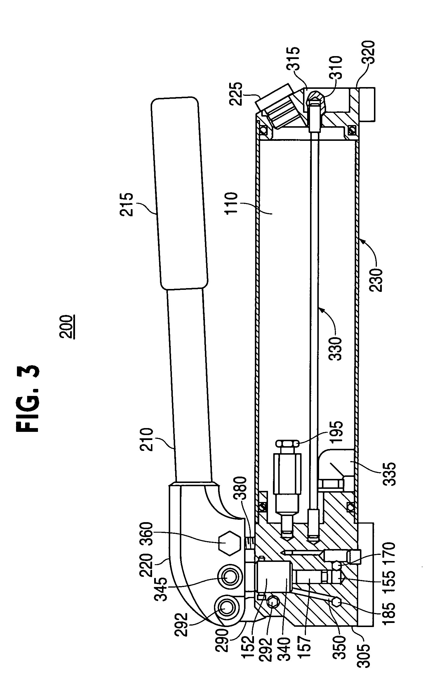Working Diagram Of Hydraulic Hand Pump 38 Wiring Images Schematic Us07316177 20080108 D00003 Patent Us7316177 With Locking Device Simple At