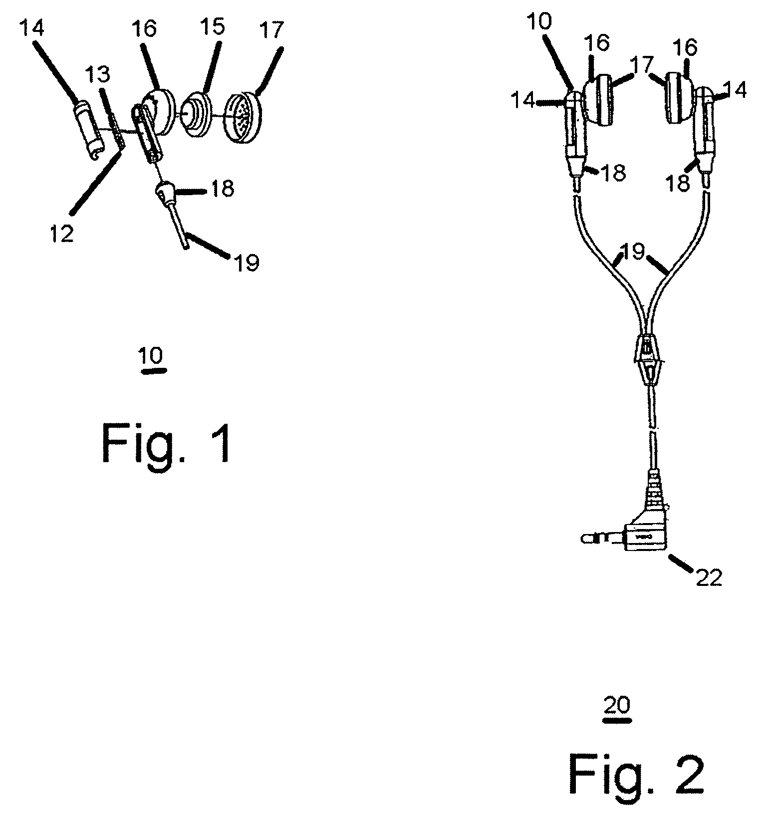 patent us7319762 - headset with flashing light emitting diodes