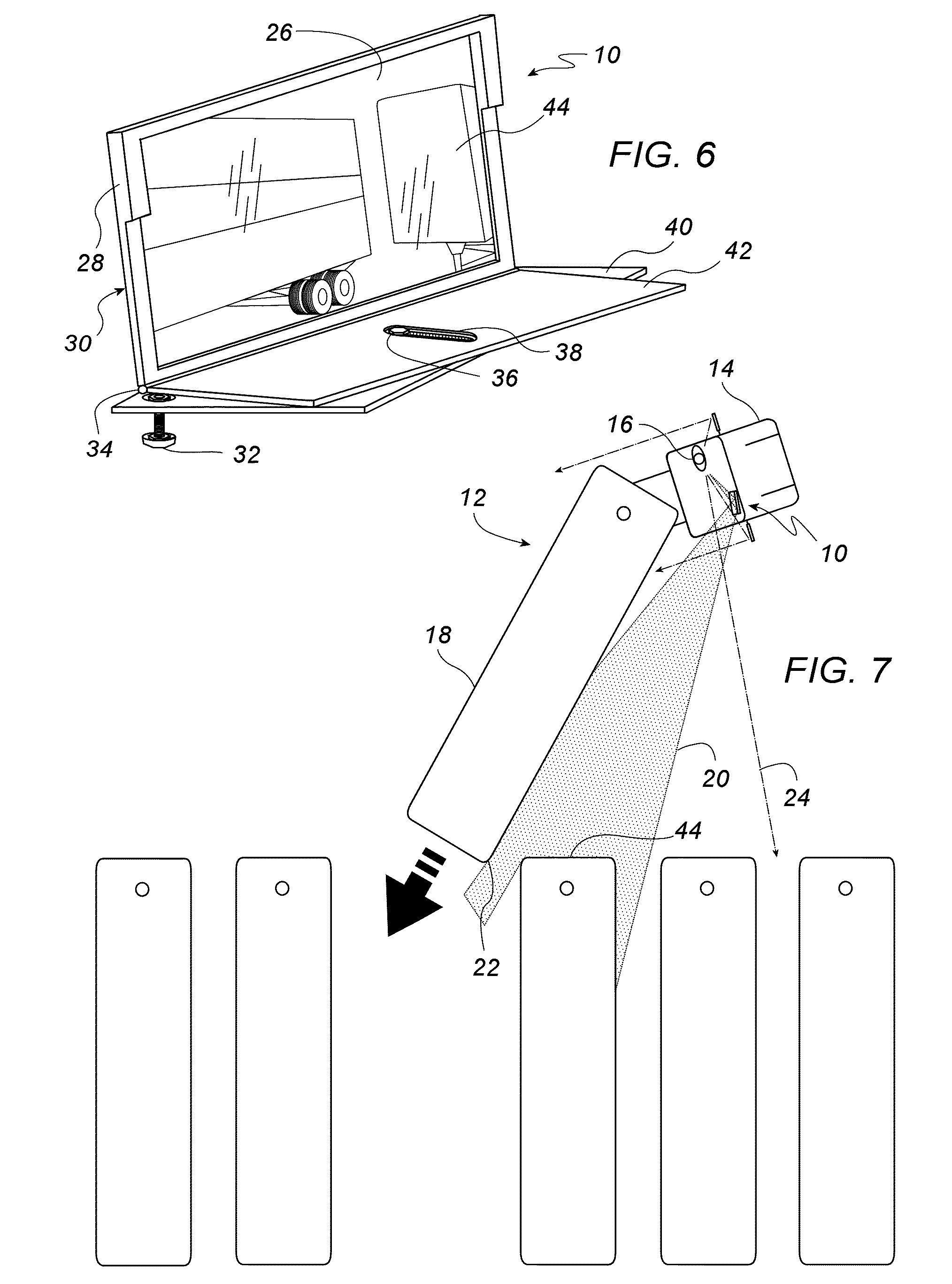 Patent US7320526 - Portable wide-view mirror for blind-side ...
