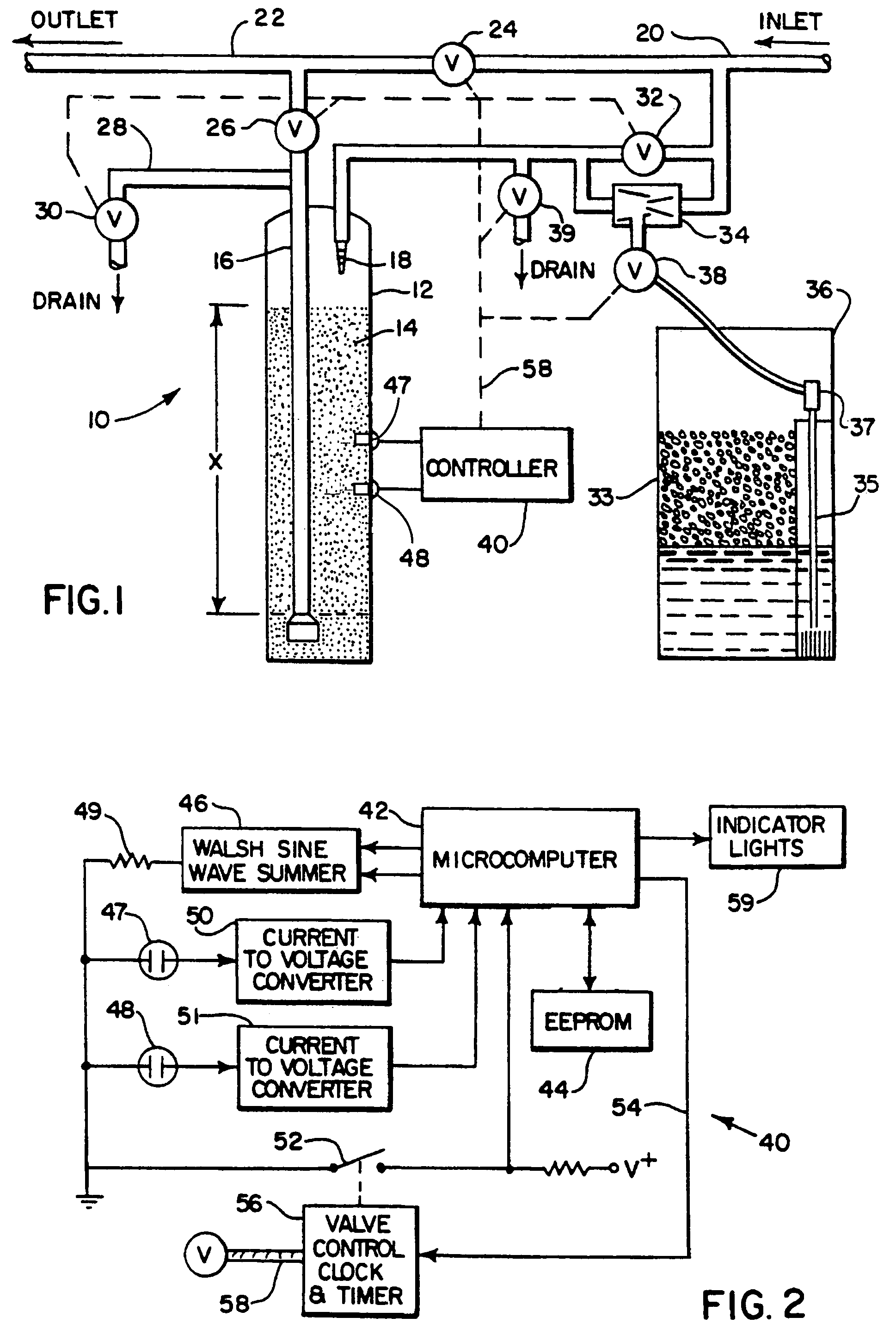 Patent Us7329338 Conductivity Sensor For An Ion Exchange