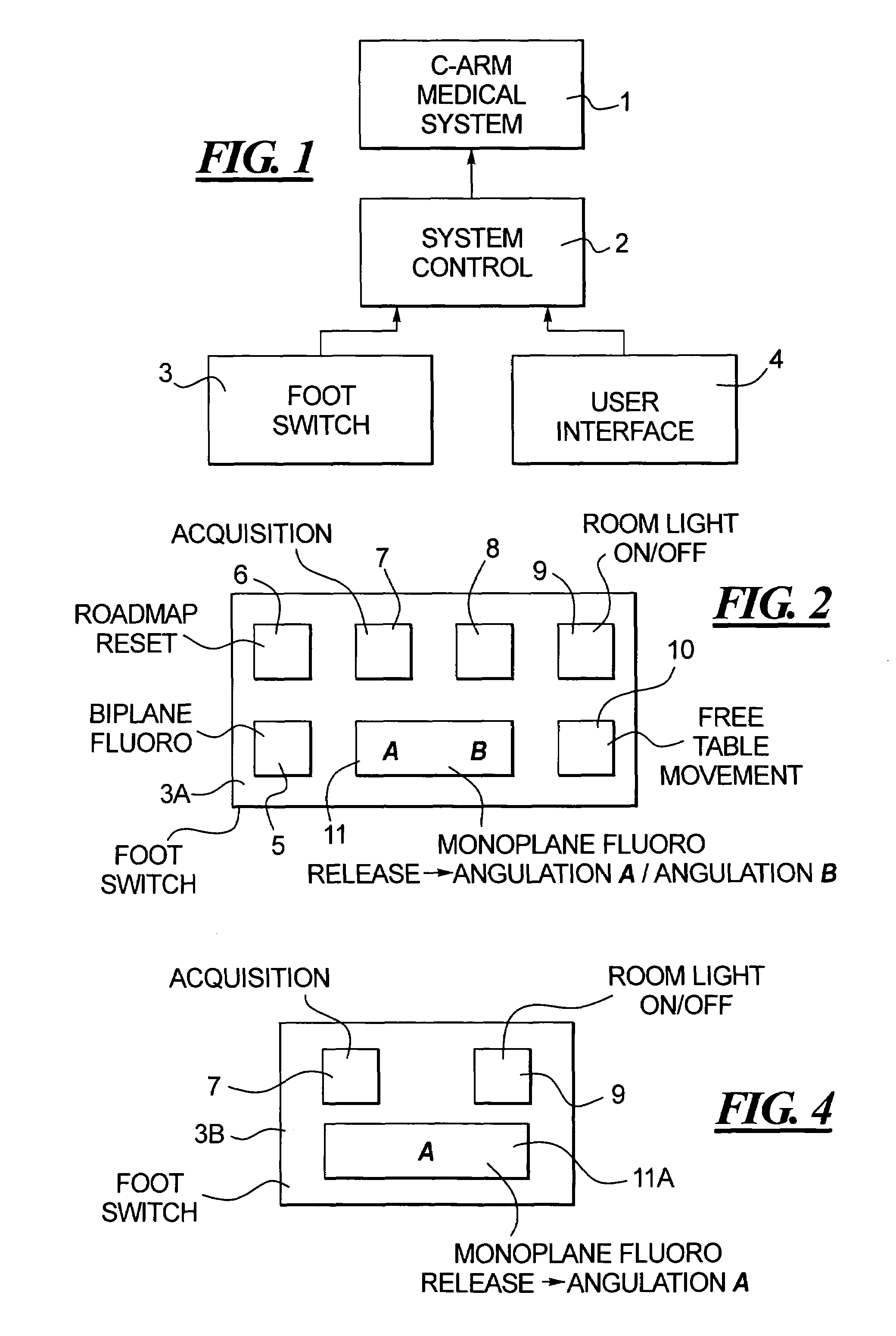 Brevet us7331711 method and foot switch control for fast patent drawing ccuart Gallery