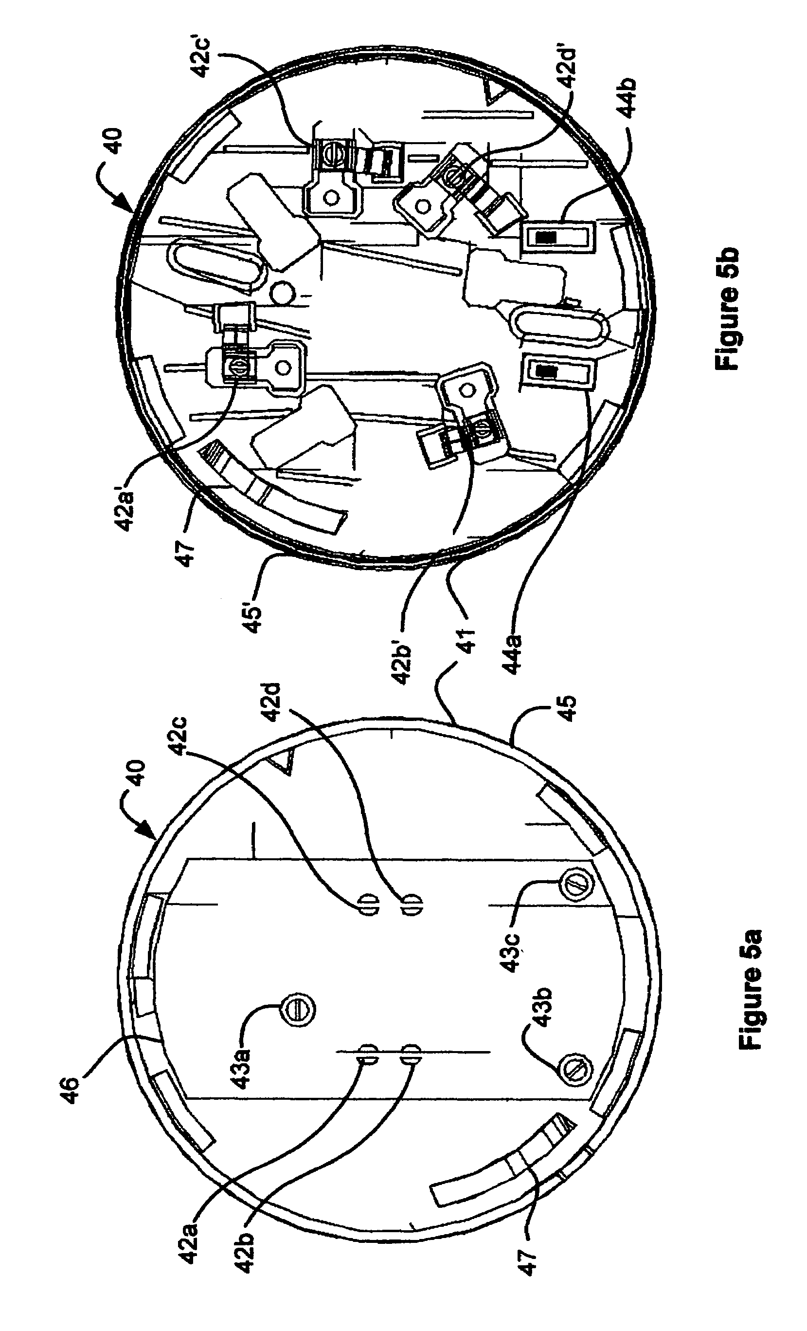 US07336165 20080226 D00005 patent us7336165 retrofitting detectors into legacy detector siga-sb wiring diagram at bayanpartner.co