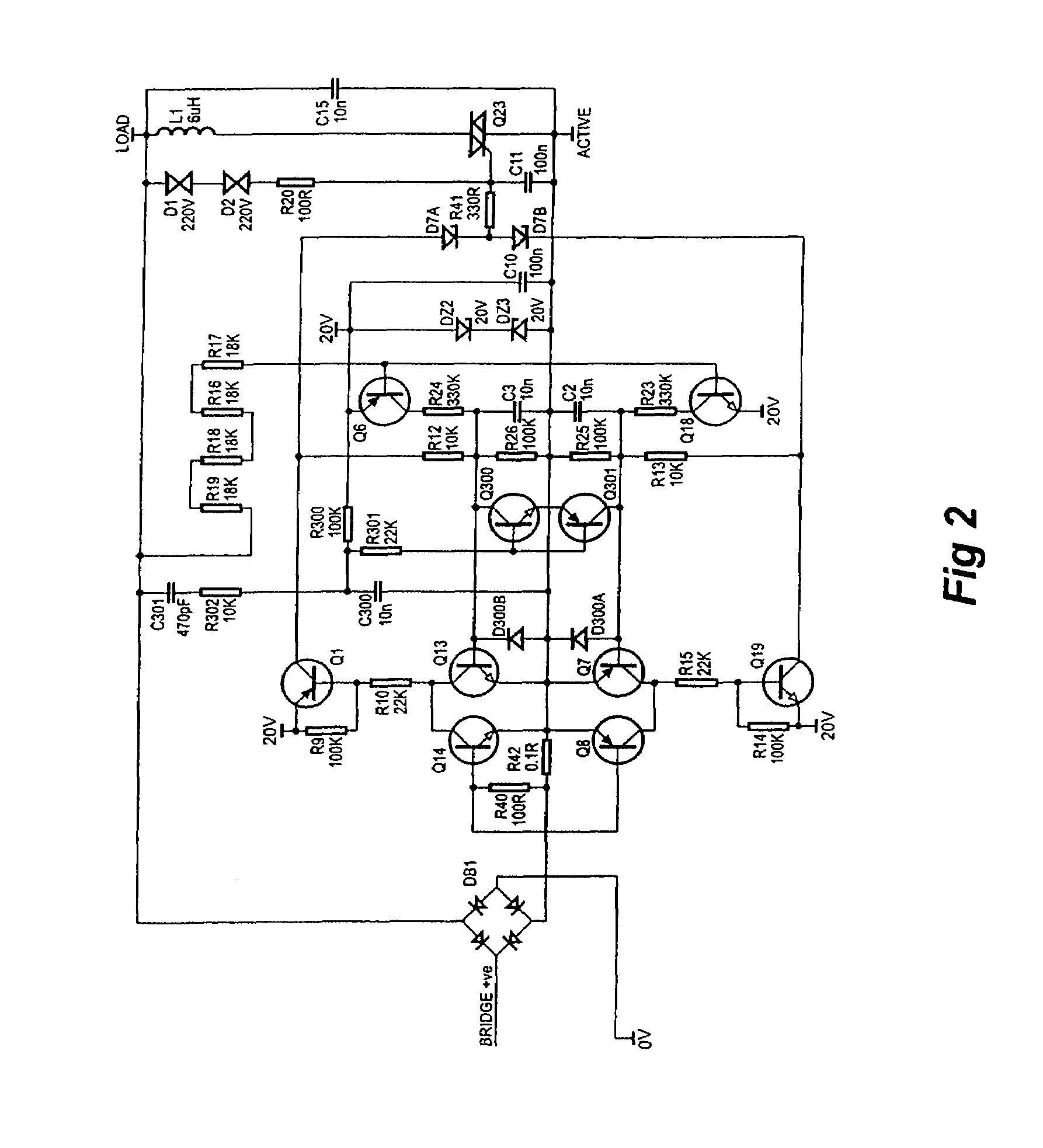 patent us7339331 dimmer circuit improved ripple control patent drawing