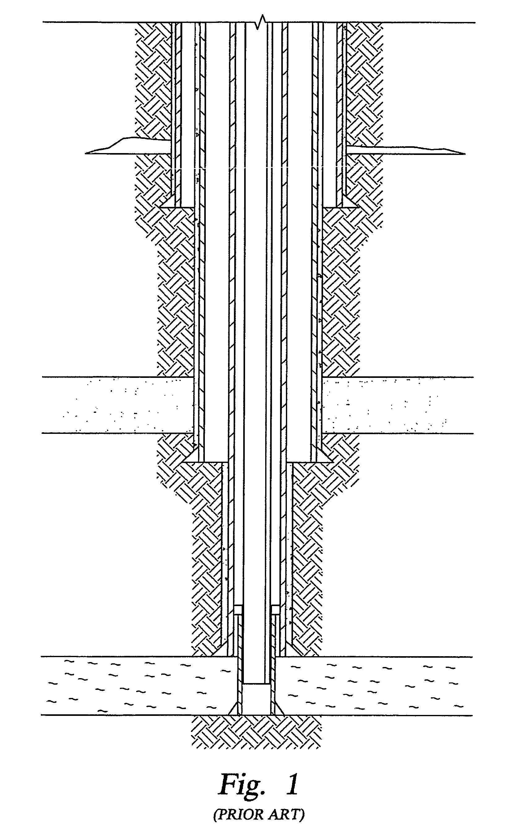 Patent us method and apparatus for a monodiameter