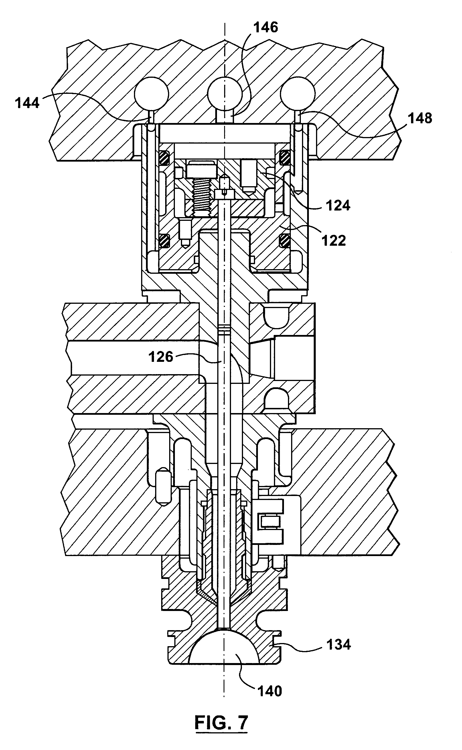 patent us7341688 - valve gate for a hot runner injection molding machine