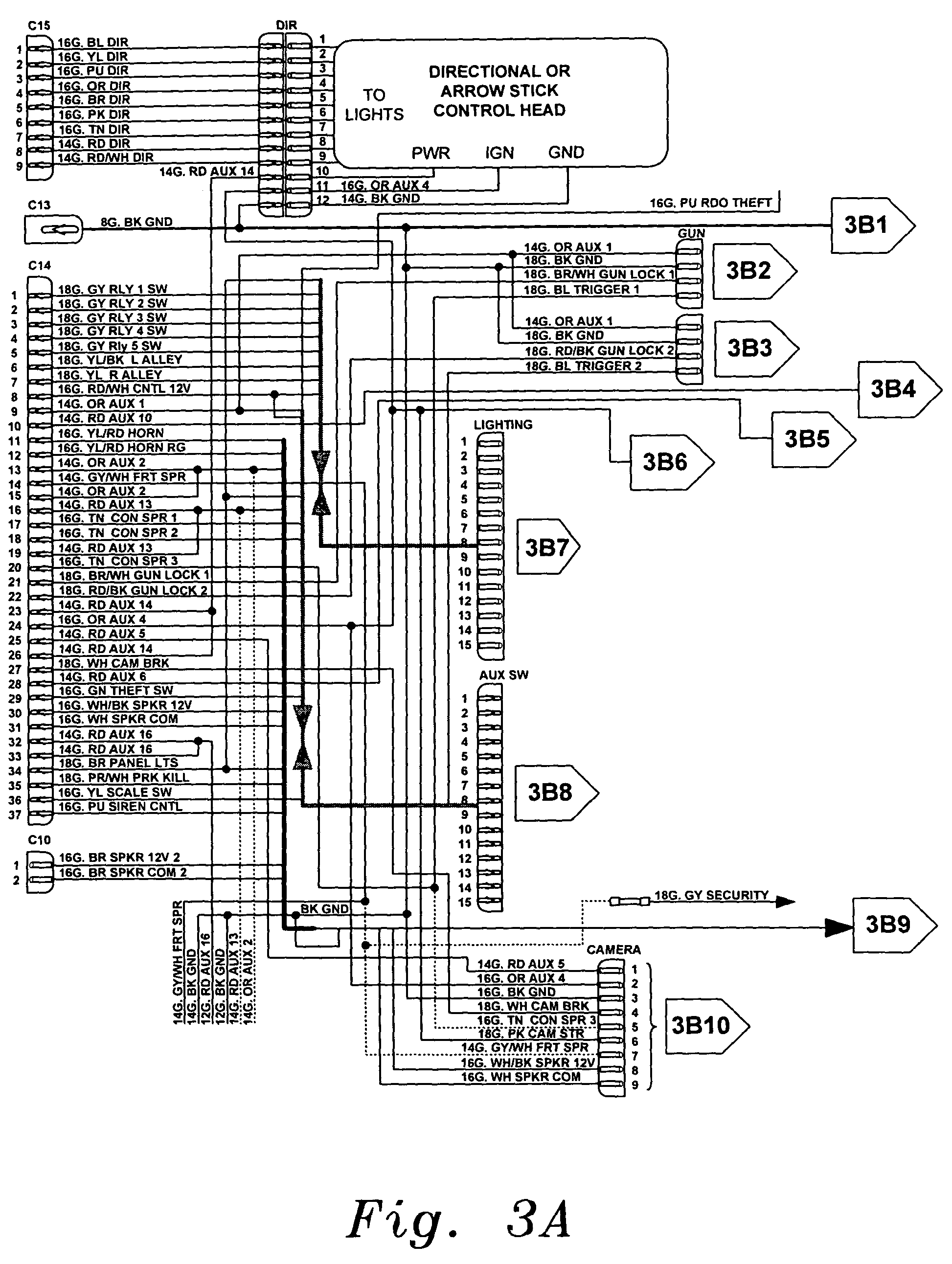 US07342325 20080311 D00004 patent us7342325 universal fleet electrical system google patents cat c15 wiring diagram at gsmportal.co