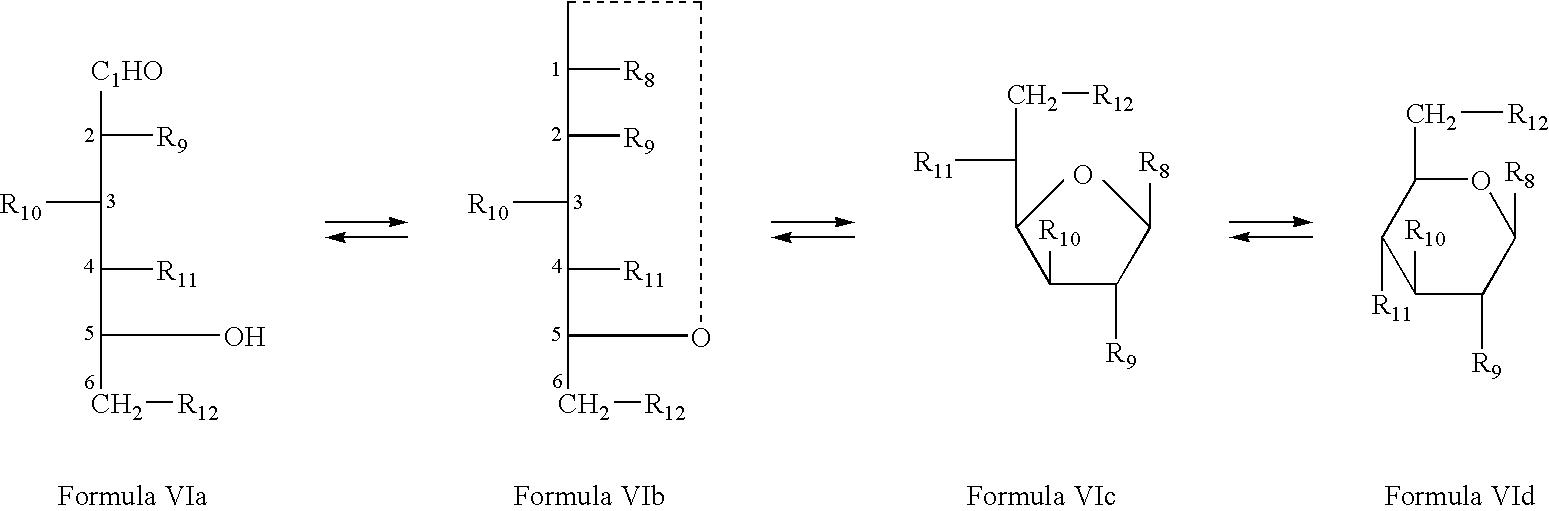 Figure US07345031-20080318- D 2 Deoxyglucose Fischer Projection