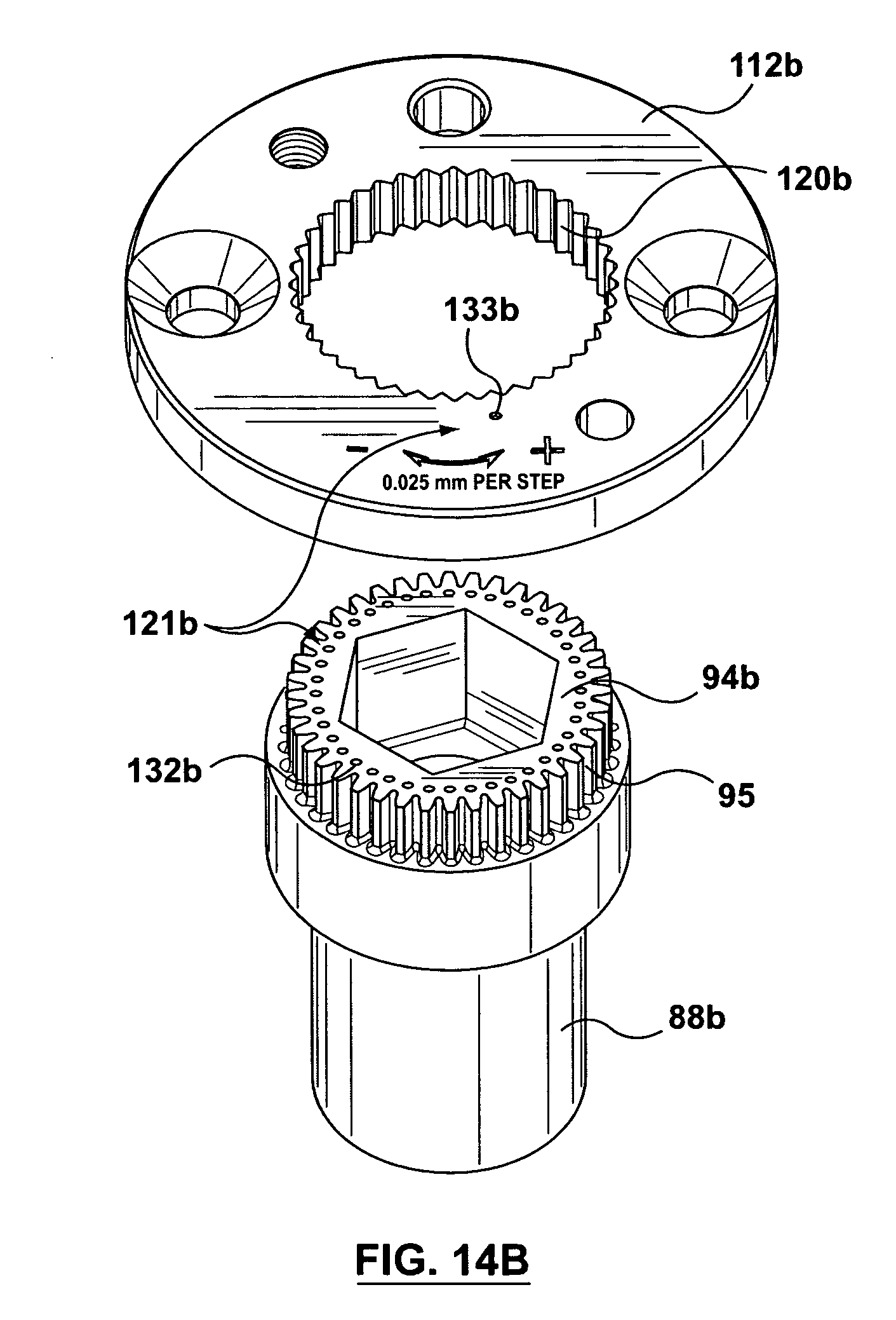 patent us7347684 adjustable valve pin actuator for an injection Millimeters to Inches patent drawing