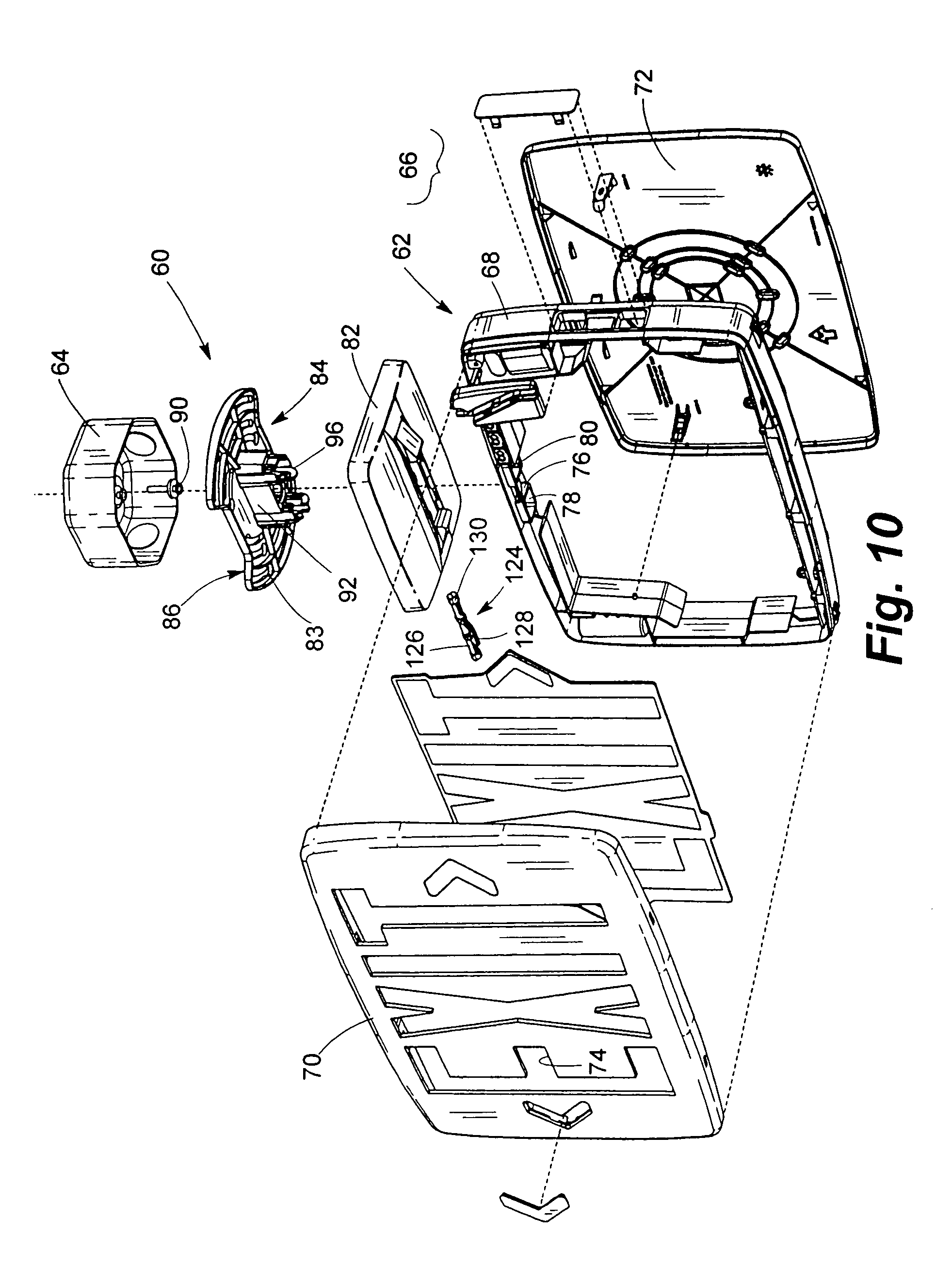 patent us7350327 mounting devices for exit signs and other patent drawing