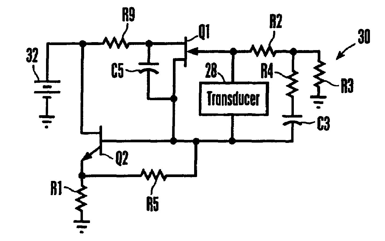Patent Us7352107 Transconductance Circuit For Piezoelectric Highvoltage Amplifier Diagram Ceramic Drawing