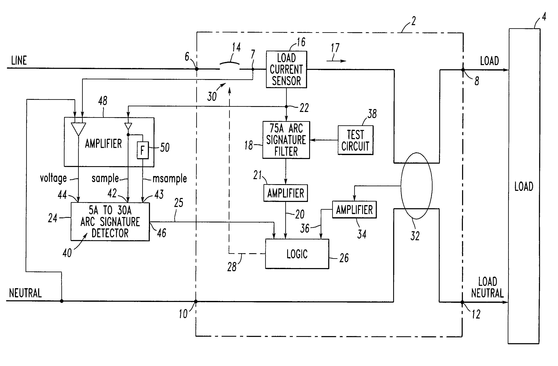 patent us7362552 arc fault circuit interrupter google arc fault circuit interrupter nec arc fault circuit interrupter filter