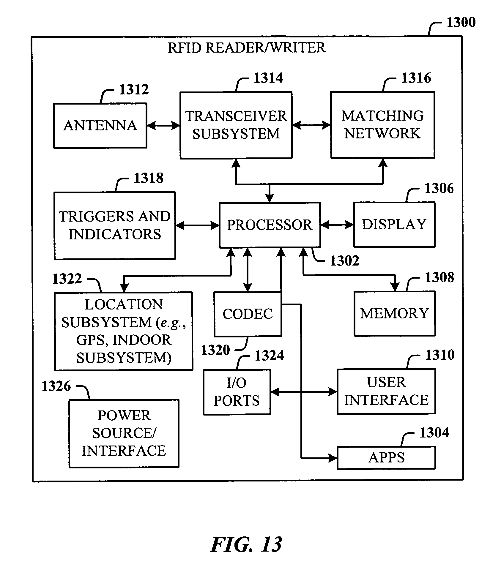 Patent Us7388491 Mobile Rfid Reader With Integrated