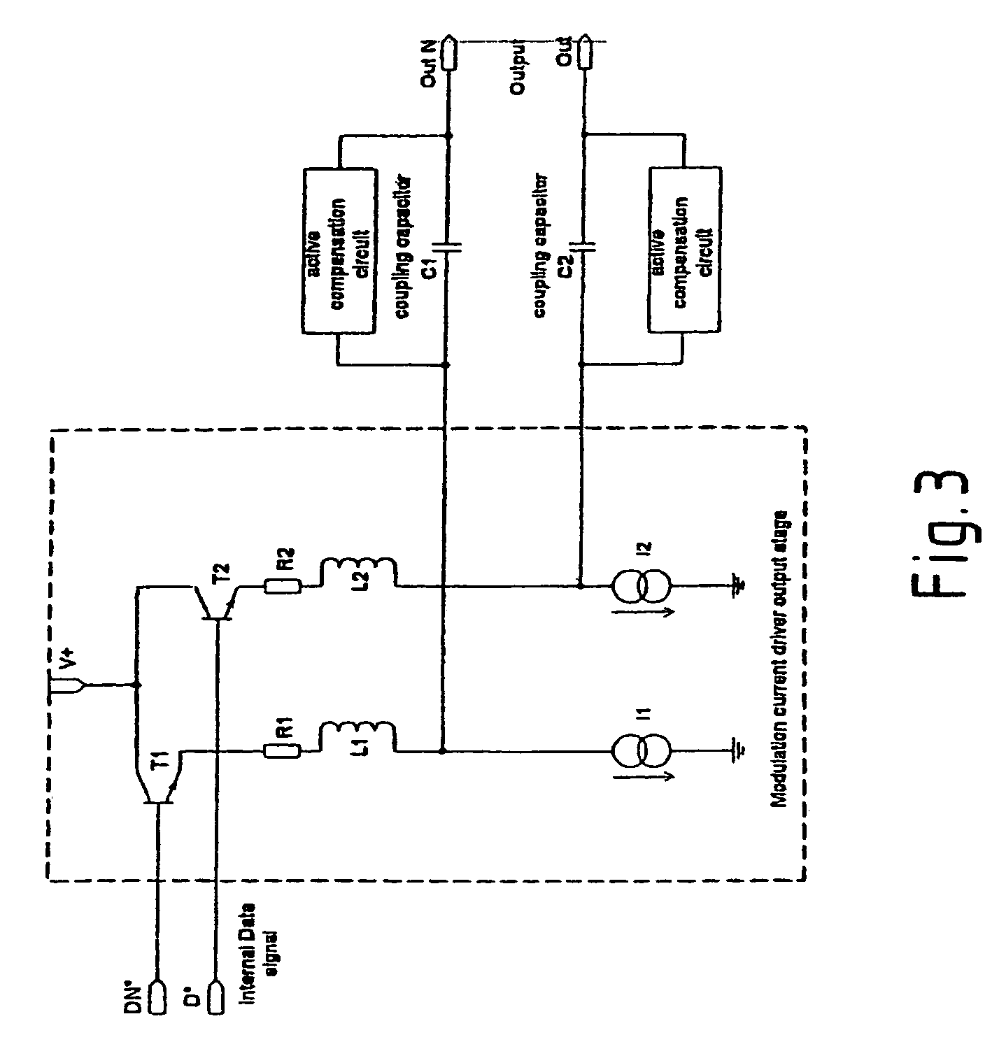 Patent Us7391797 Integrated Circuit For Controlling A Laser Diode Low Pass Filter Diagram Basiccircuit Drawing