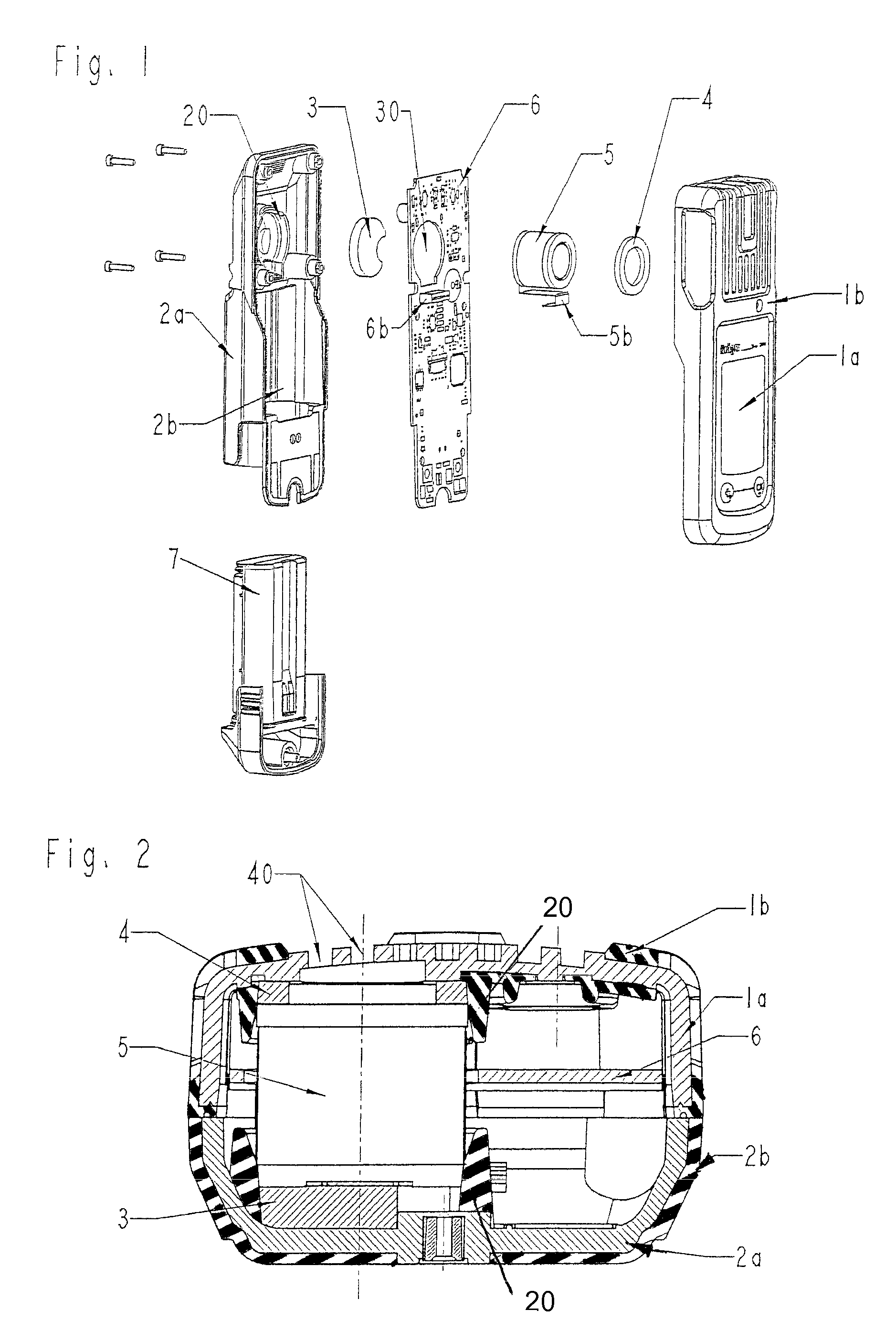 patent us7395692 - portable gas meter