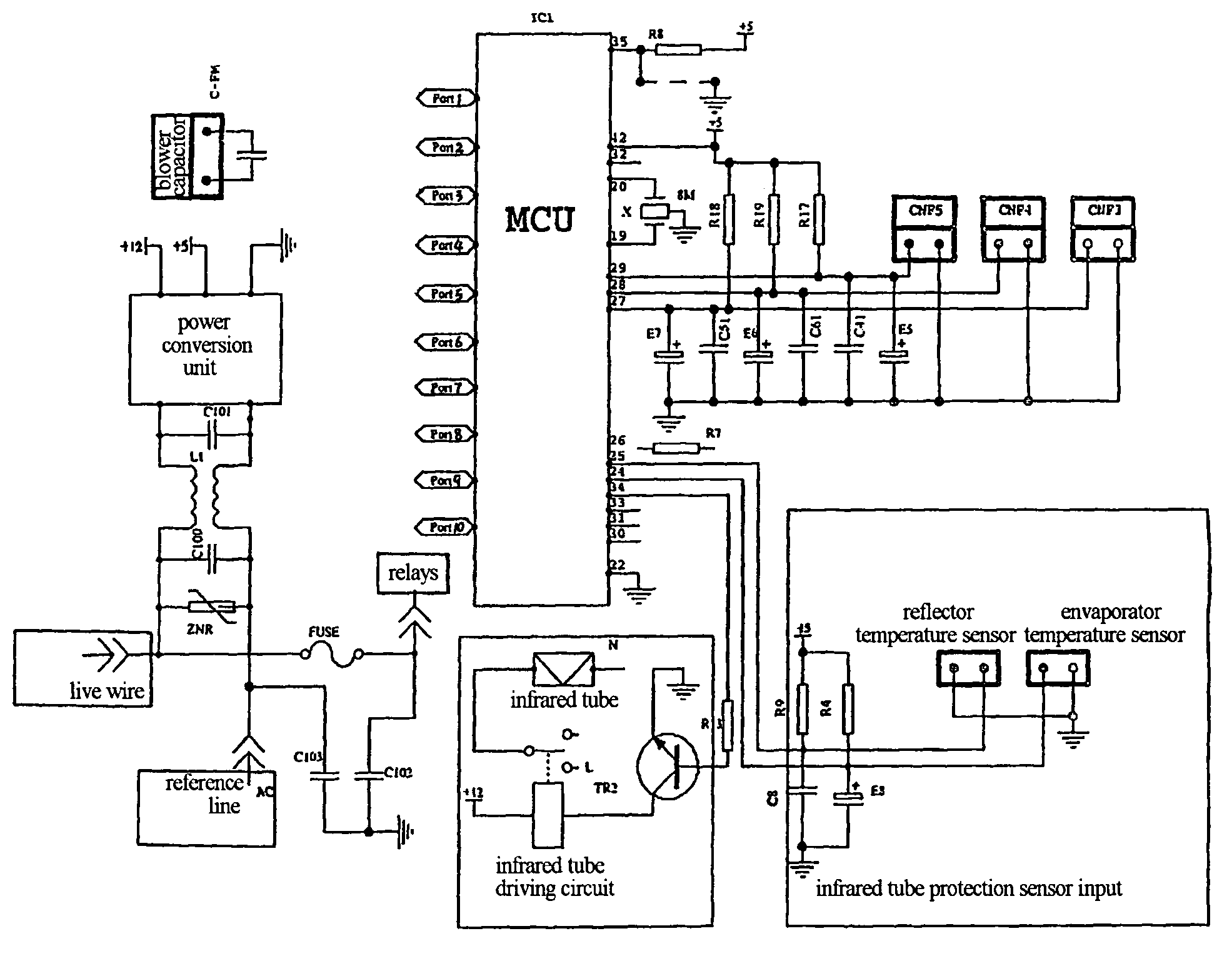 galanz air conditioner wiring diagram galanz wiring diagrams patent us7404297 air conditioner a light wave unit for