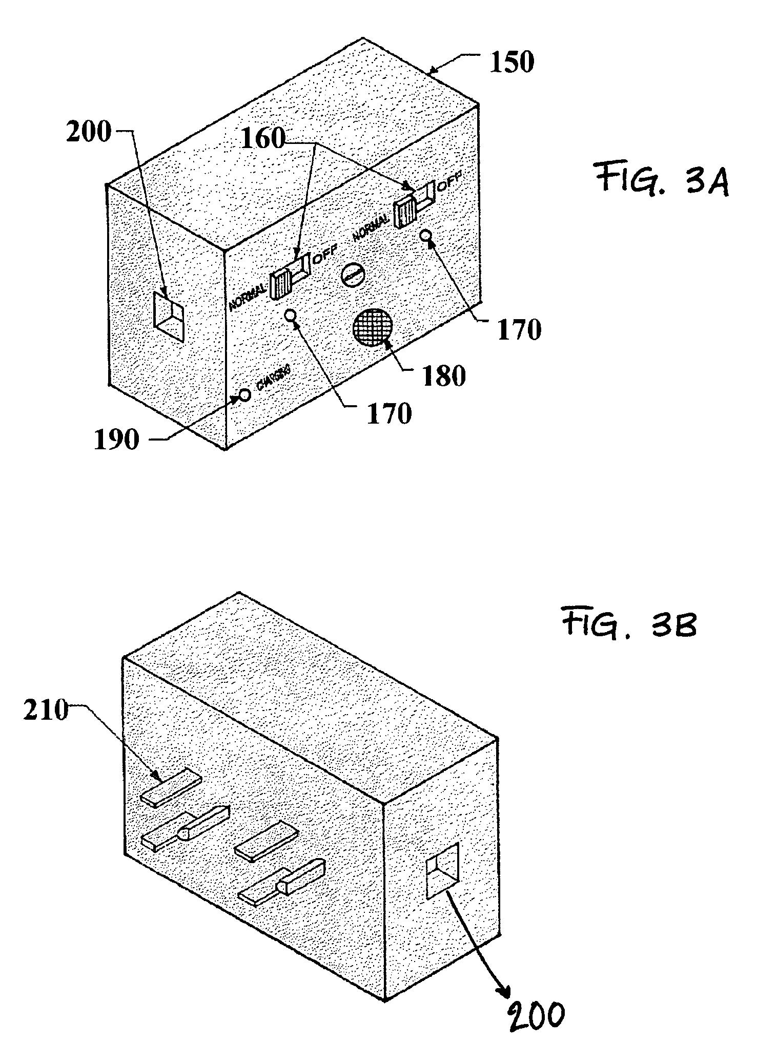 patent us7405671 - power failure alarm
