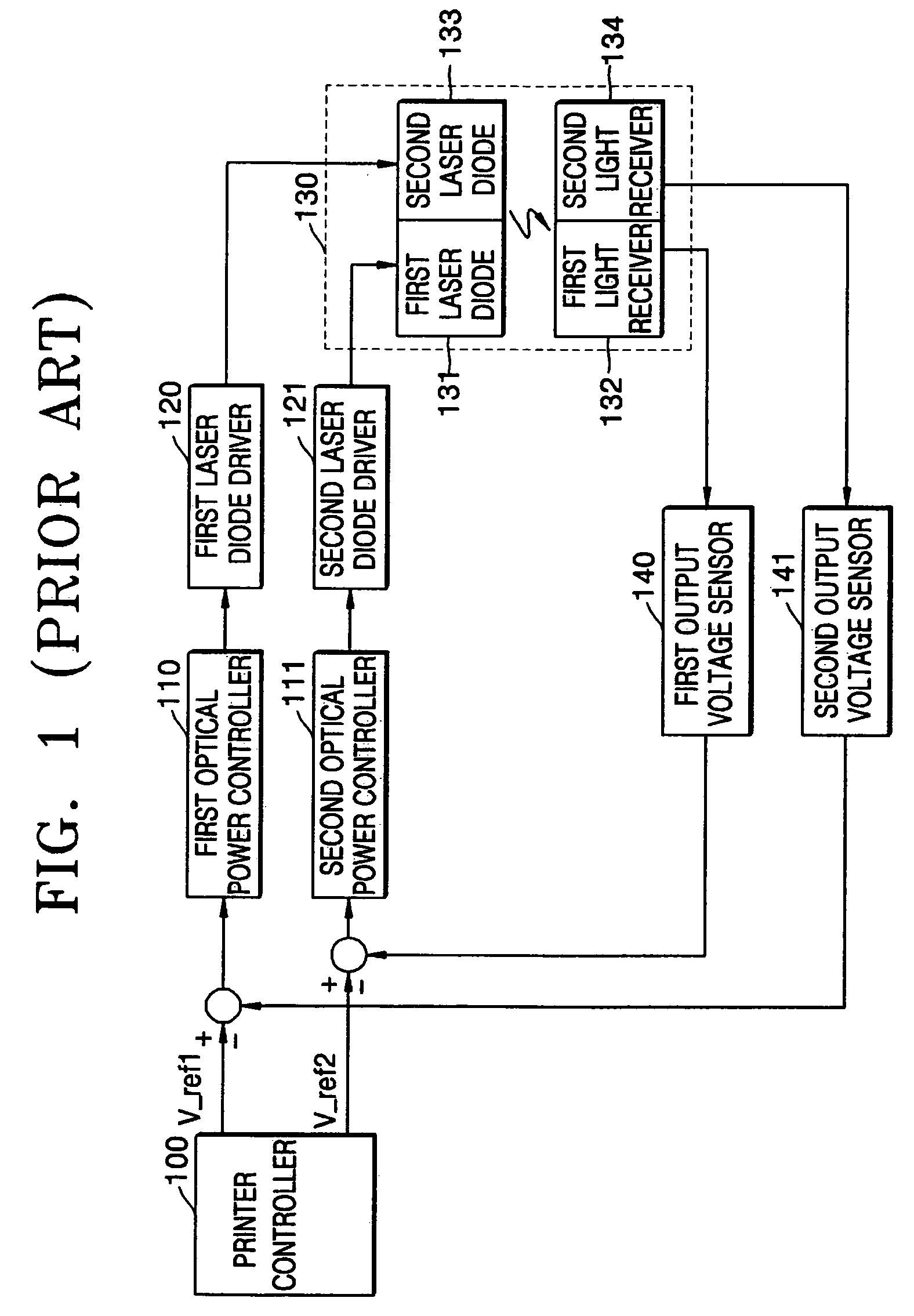 Patent Us7406110 Method And Apparatus For Controlling Power Of Laser Diode Driver Circuit Diagram Drawing