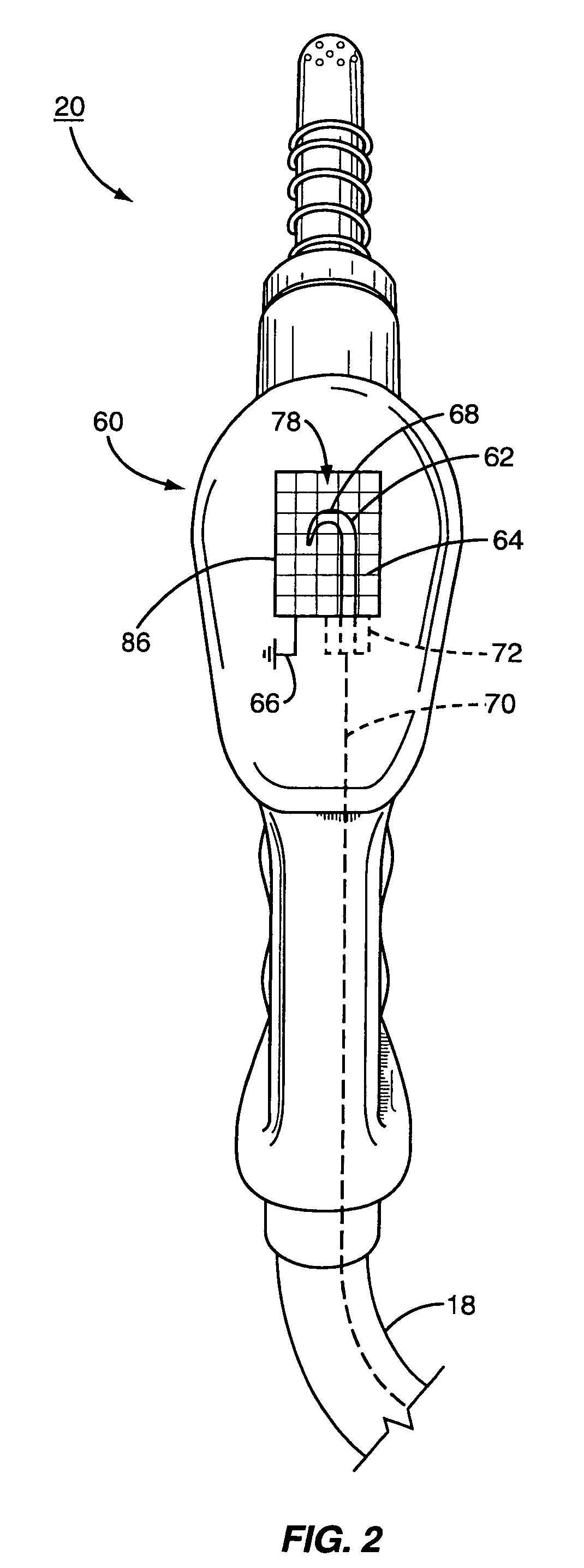 patent us7408758 - static electricity detection for fuel dispenser