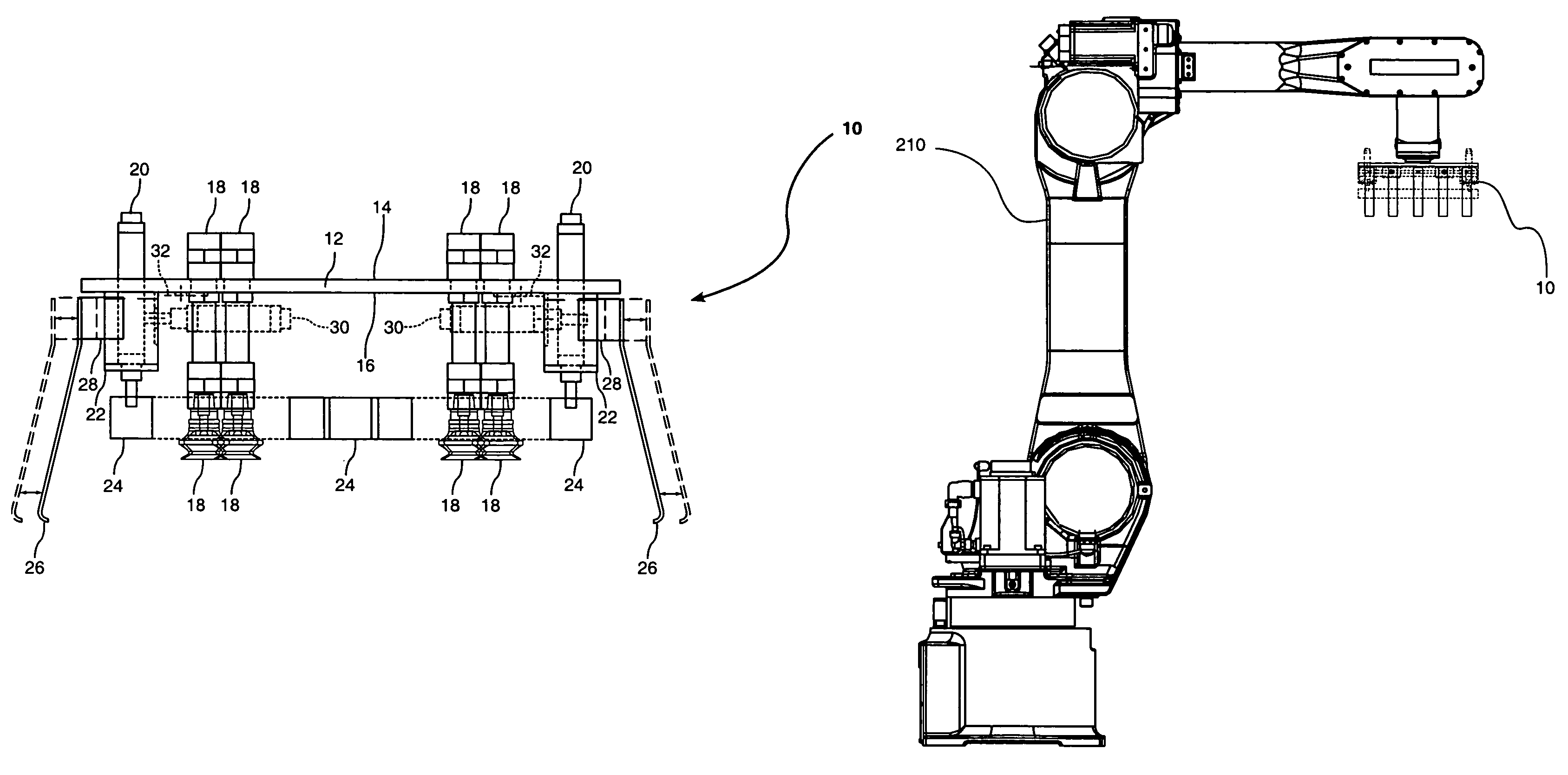 Patent us7409812 robotic packaging device and method google patent drawing malvernweather Image collections