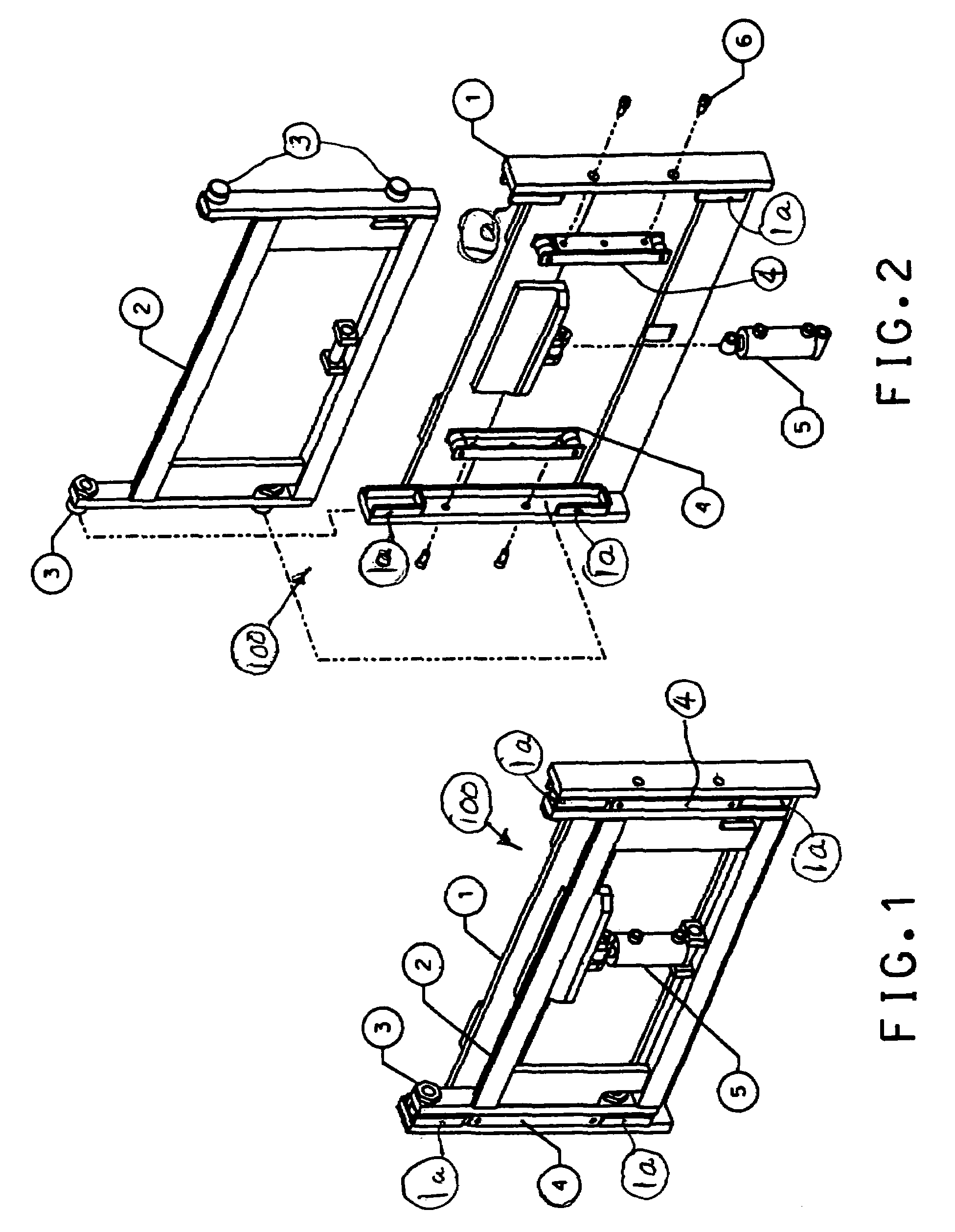 patent us7412919 - hydraulic force control system for clamping assembly
