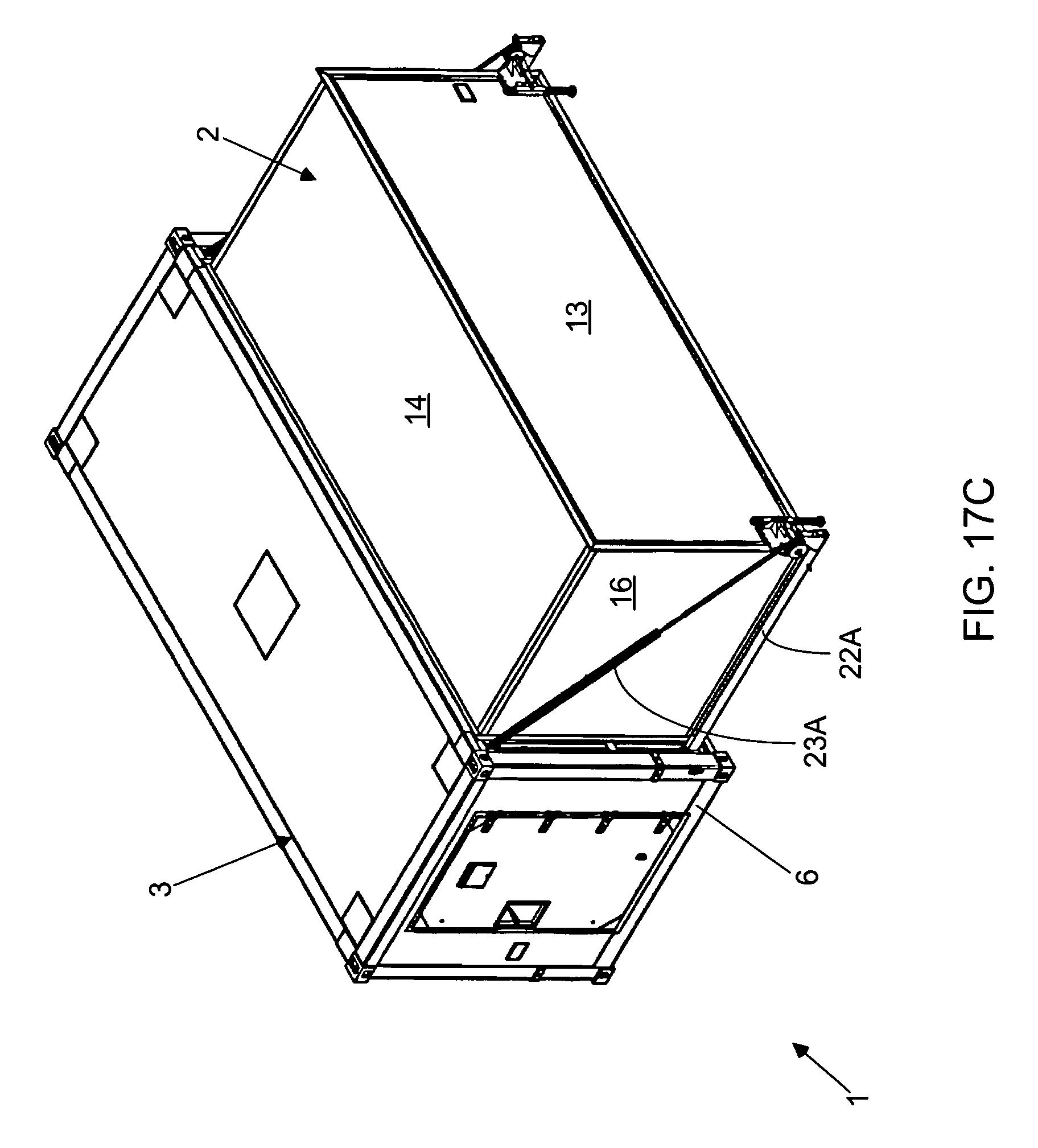 Expandable Shelter System : Patent us expandable shelter system google patents
