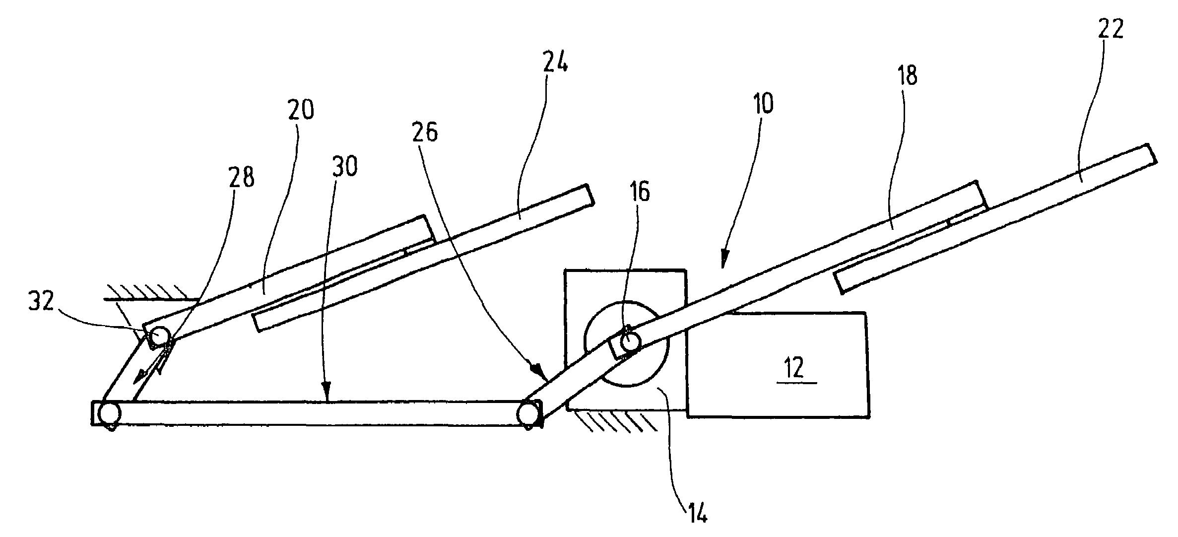 Simple Linkage Mechanisms : Patente us drive arrangement for a wiper device