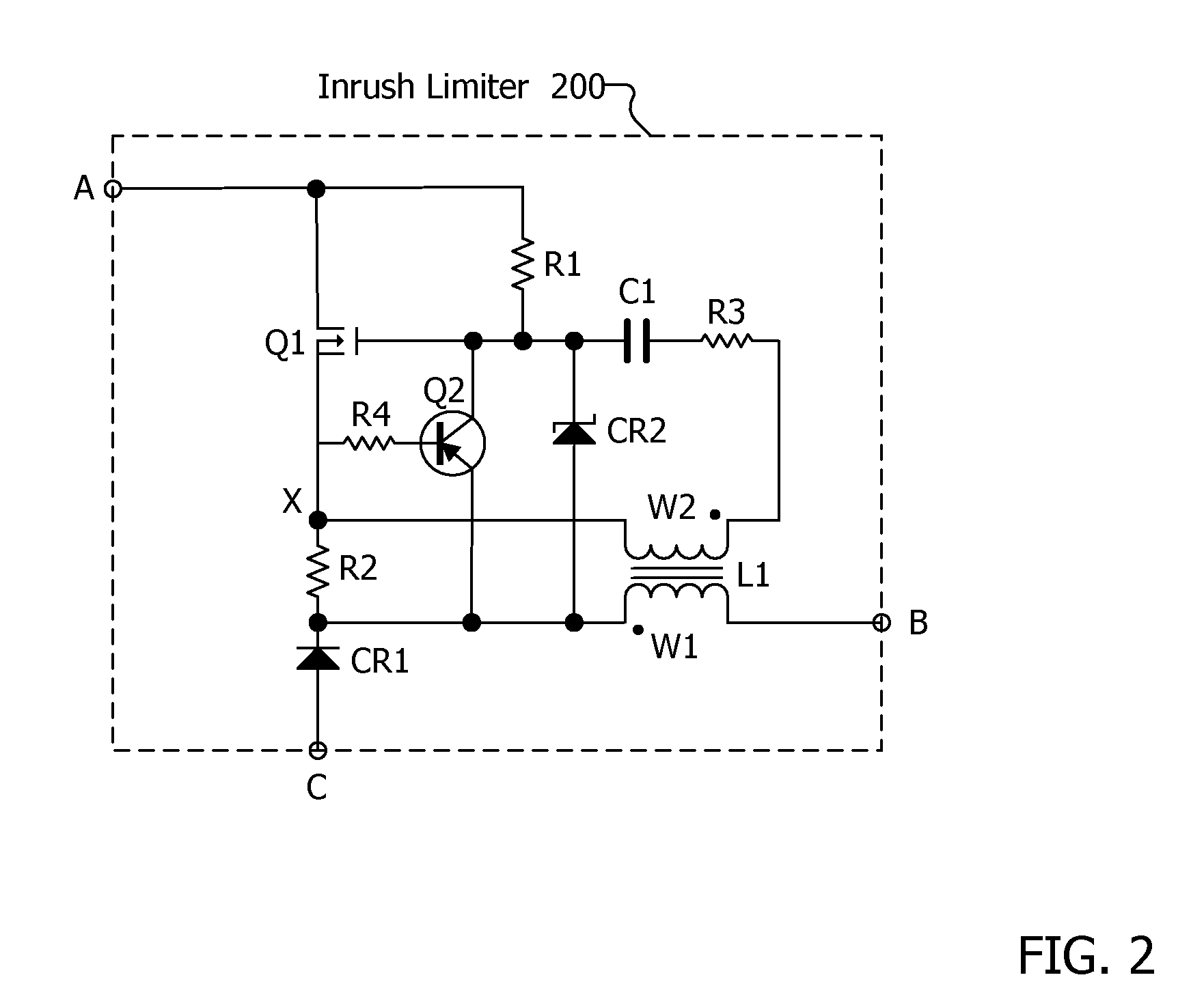 patent us7420827 - self oscillating inrush current limiting converter
