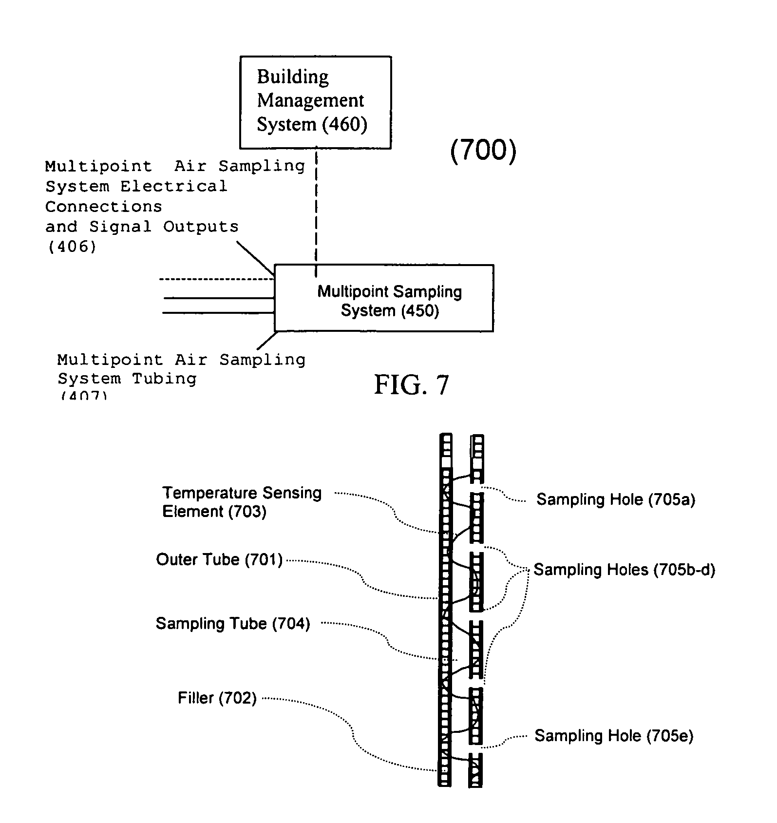 Air Sampling System : Patent us duct probe assembly system for