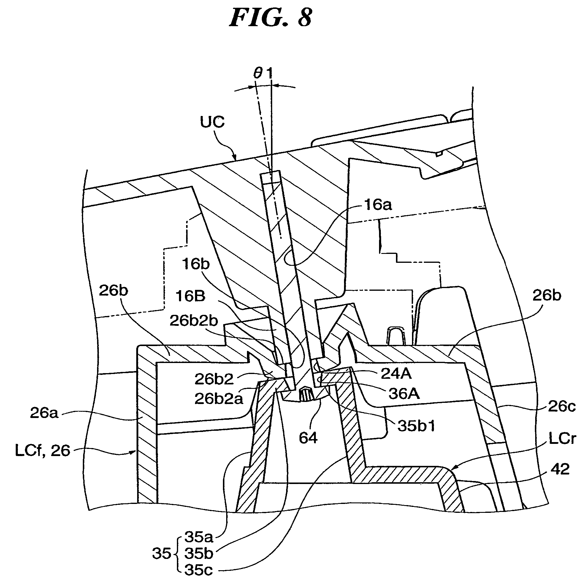 Patent US Exterior Structure For Keyboard Instrument - Map us keyboard