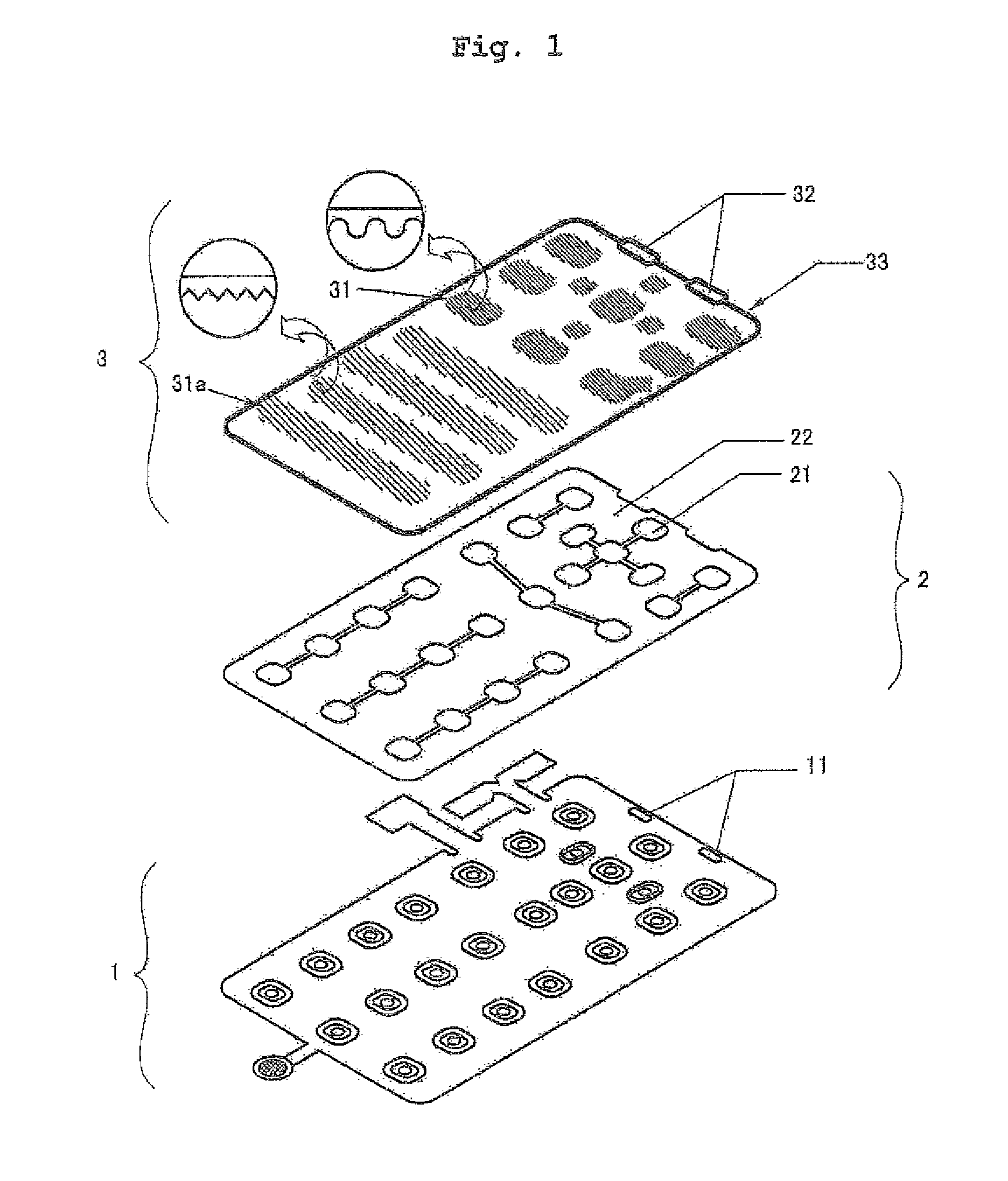 patent us7429709 - keypad pcb assembly for mobile phone with light guide plate