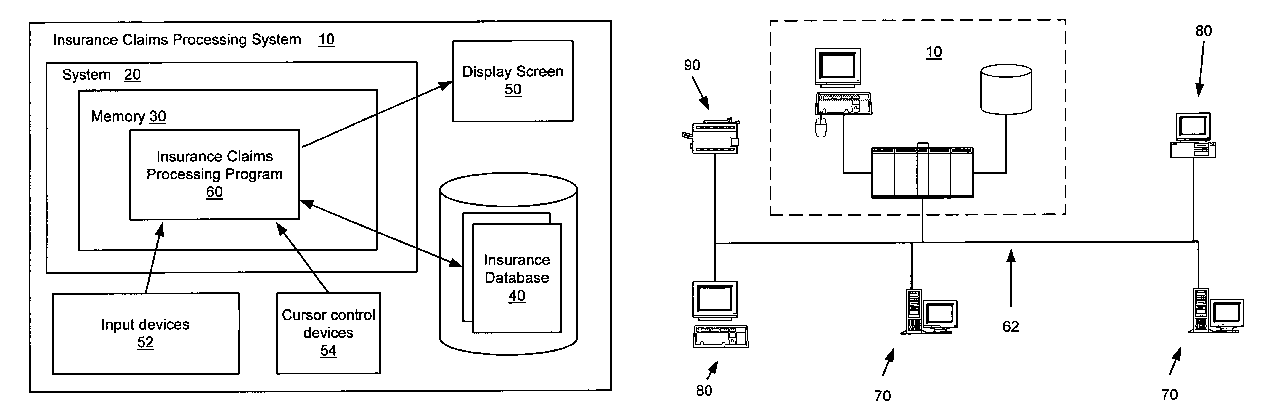 Patent US7430514 - System and method for processing insurance ...