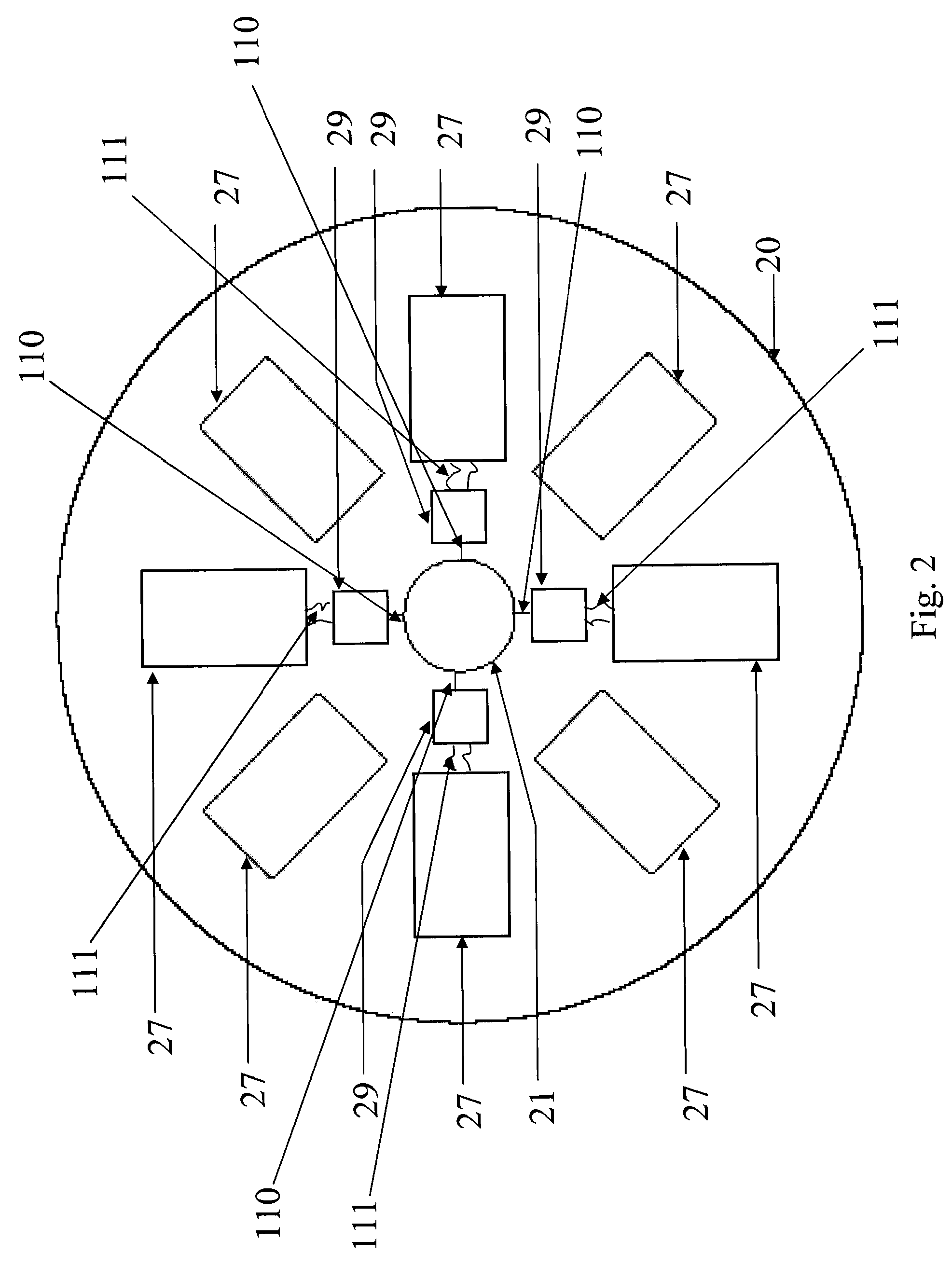 patent us7435097 - radial circuit board  system  and methods