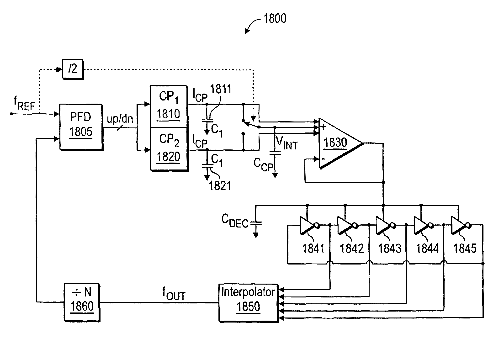 Patent Us7436229 Methods And Apparatus For Minimizing Jitter In A Threebit Temperature Controller Circuit Controlcircuit Drawing