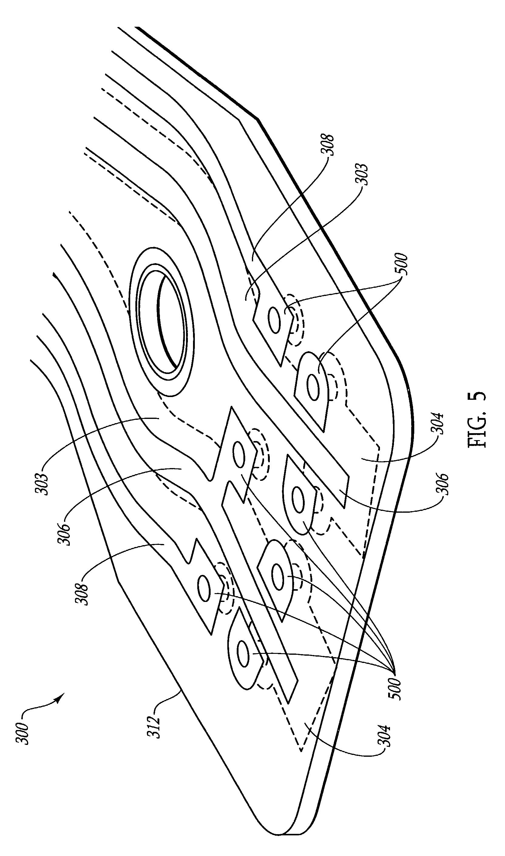 patent us7439449
