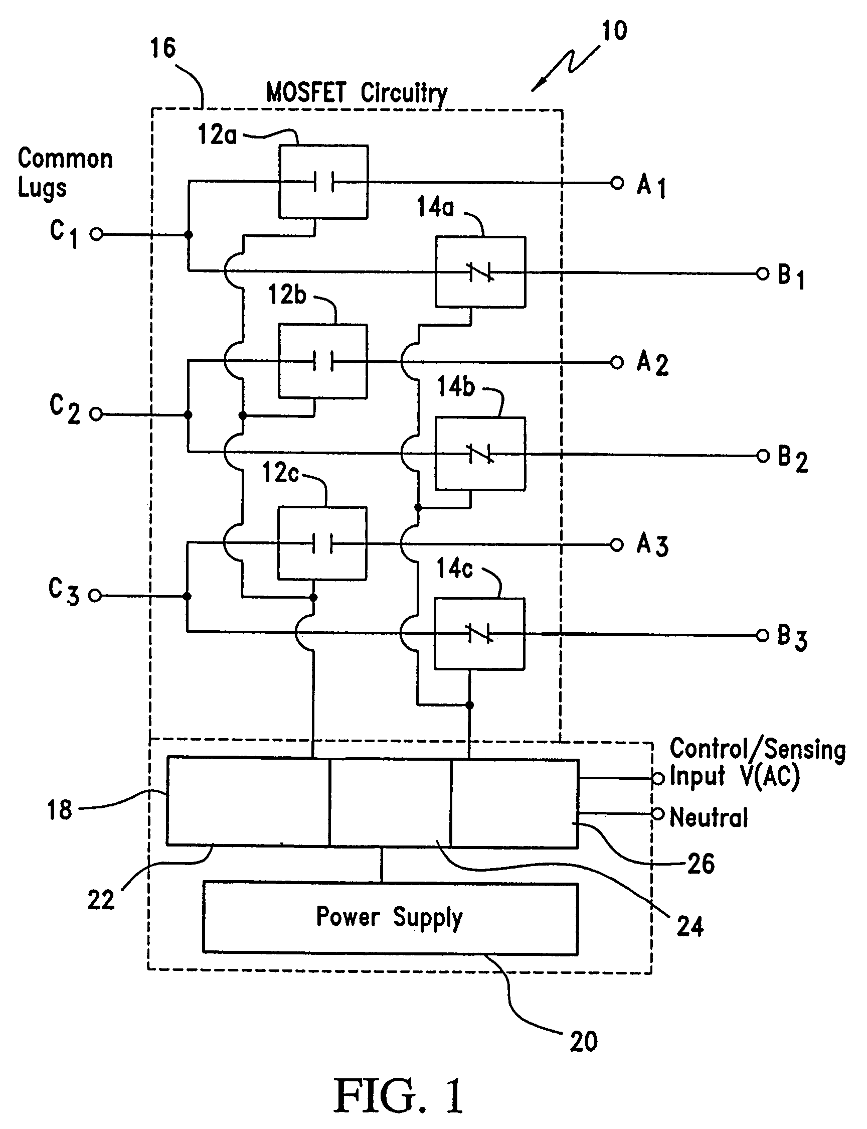 Patent Us7439636 Driver System For Mosfet Based High Voltage Power Output Switching Regulator Circuitin Integrated Circuits Drawing