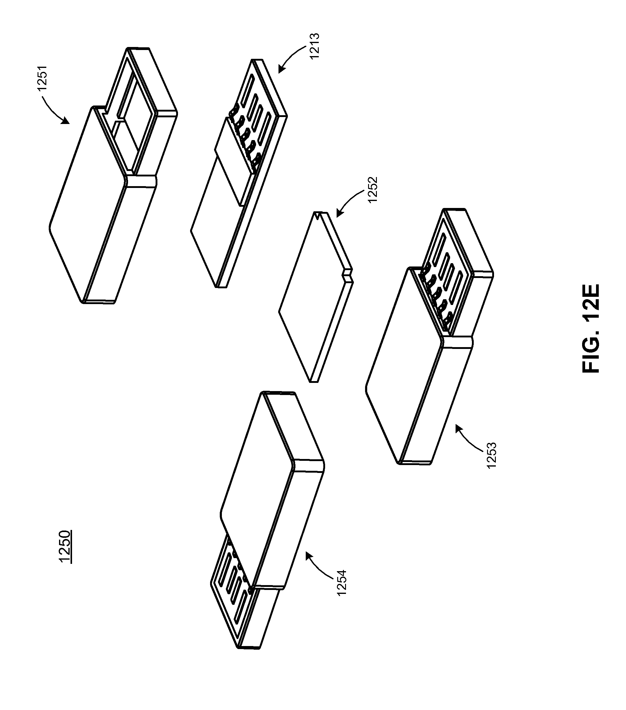patent us7440287 - extended usb pcba and device with dual personality