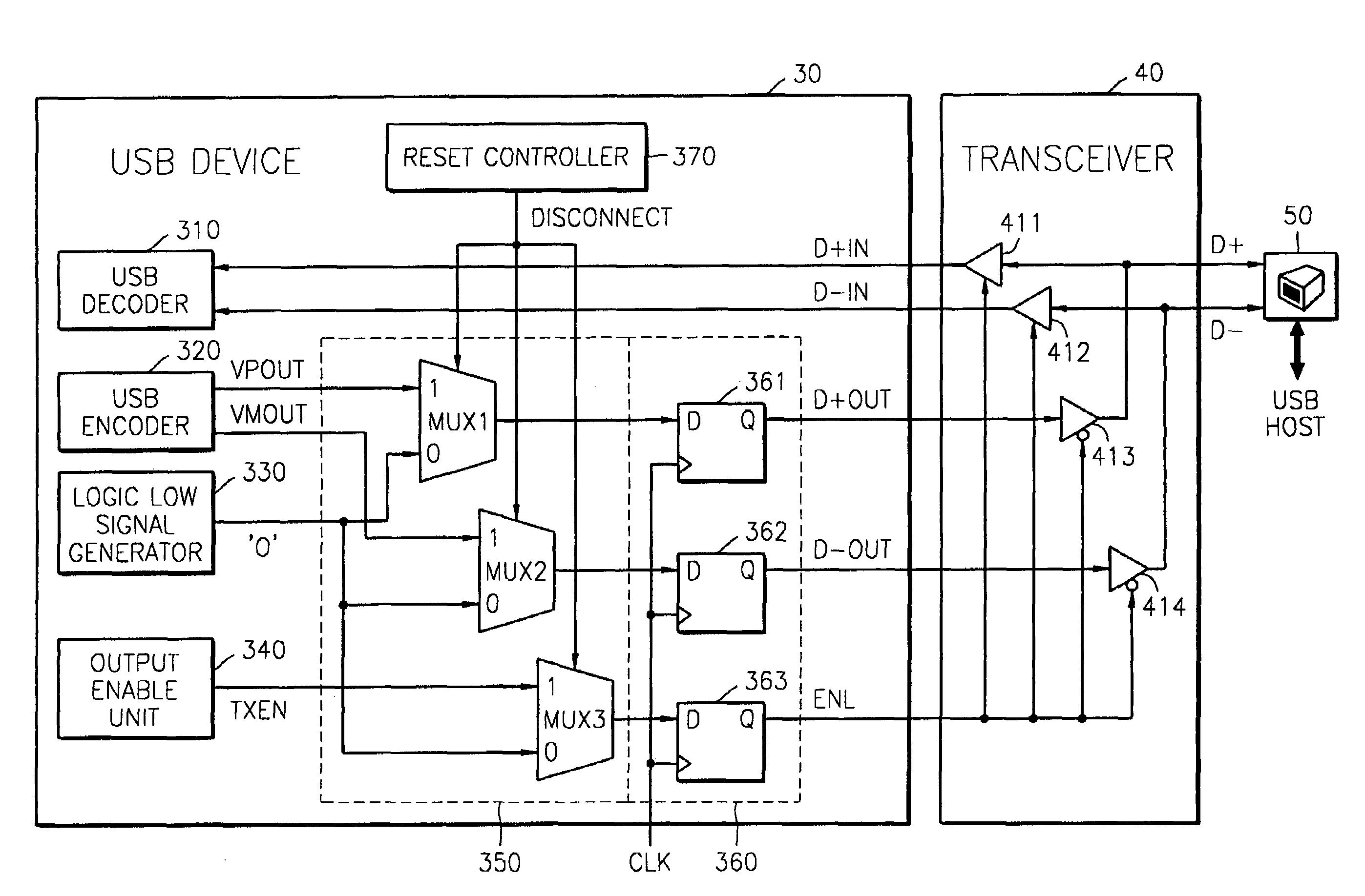 Patent Us7451257 Universal Serial Bus Device Having Logical Logic Diagram Encoder Drawing