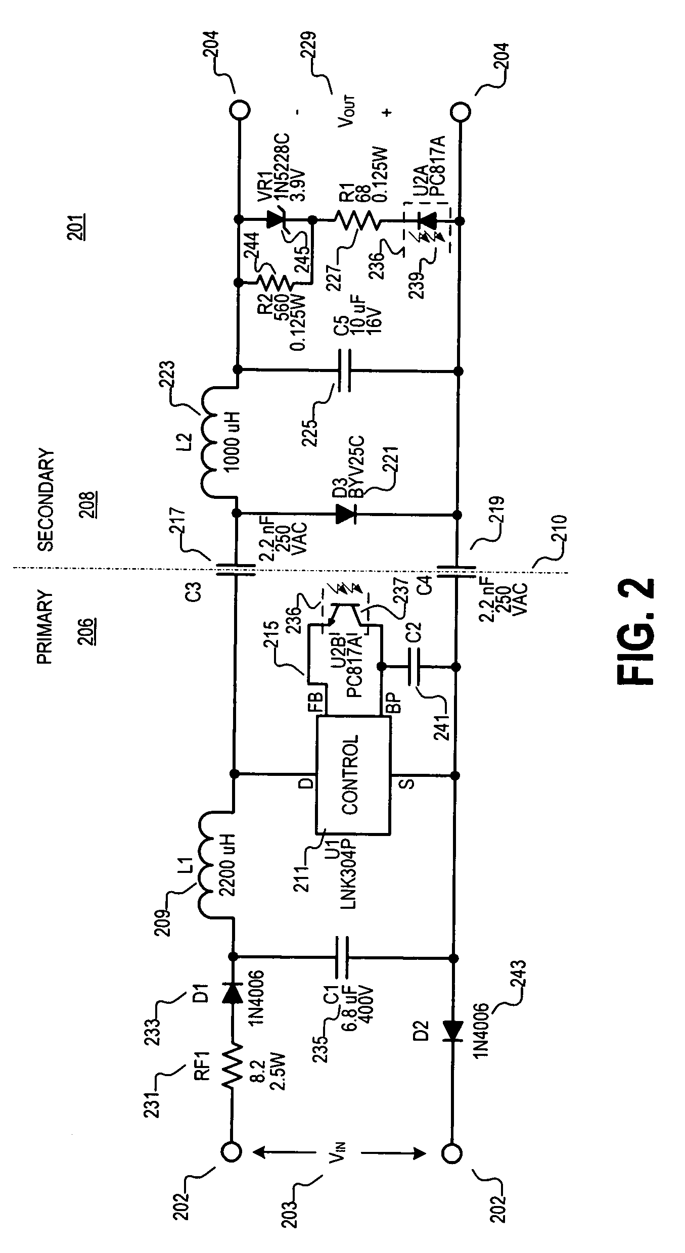 lnk304pn应用电路图