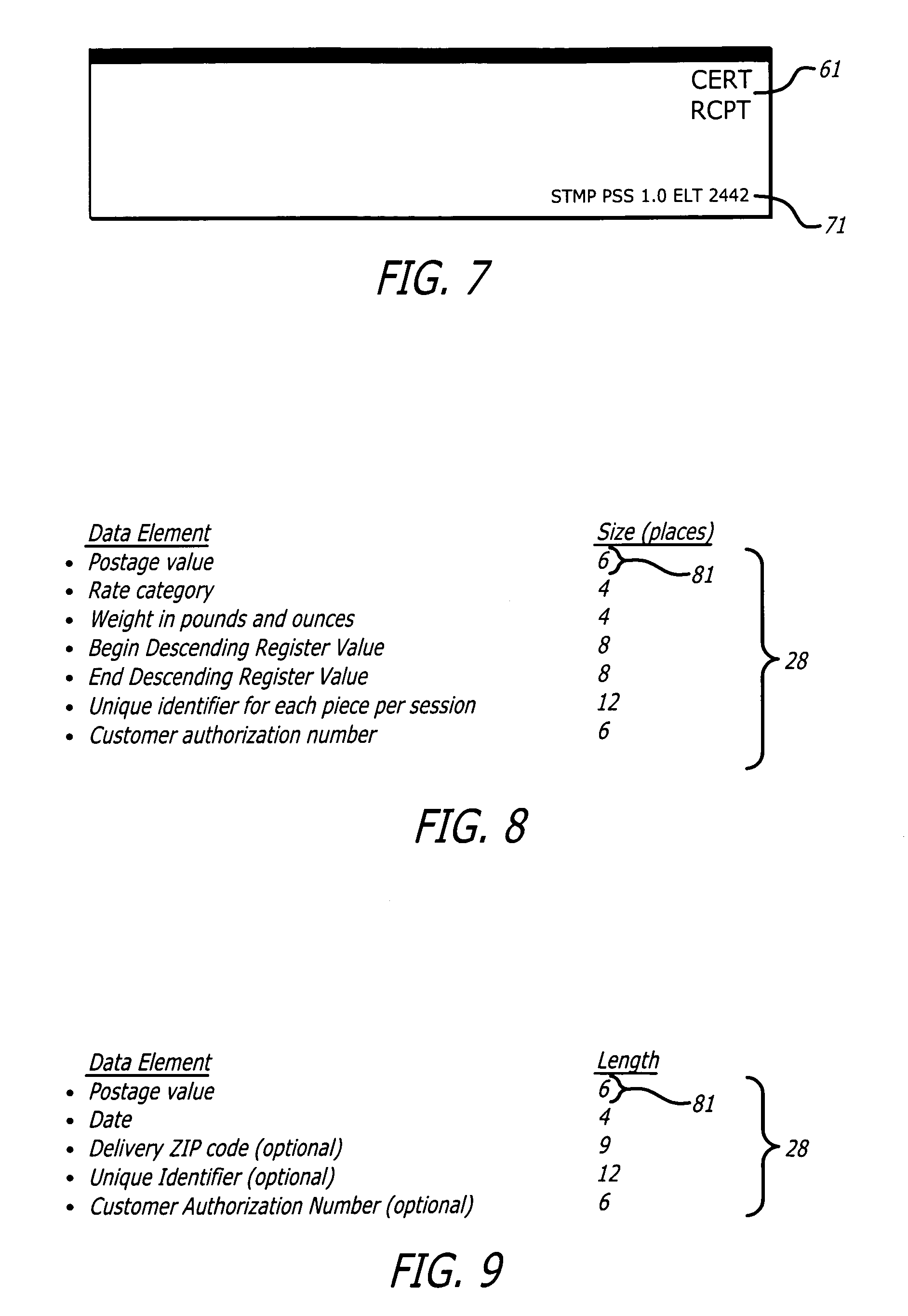 Patent US Postal Shipping Label Google Patents - Us zip codes number
